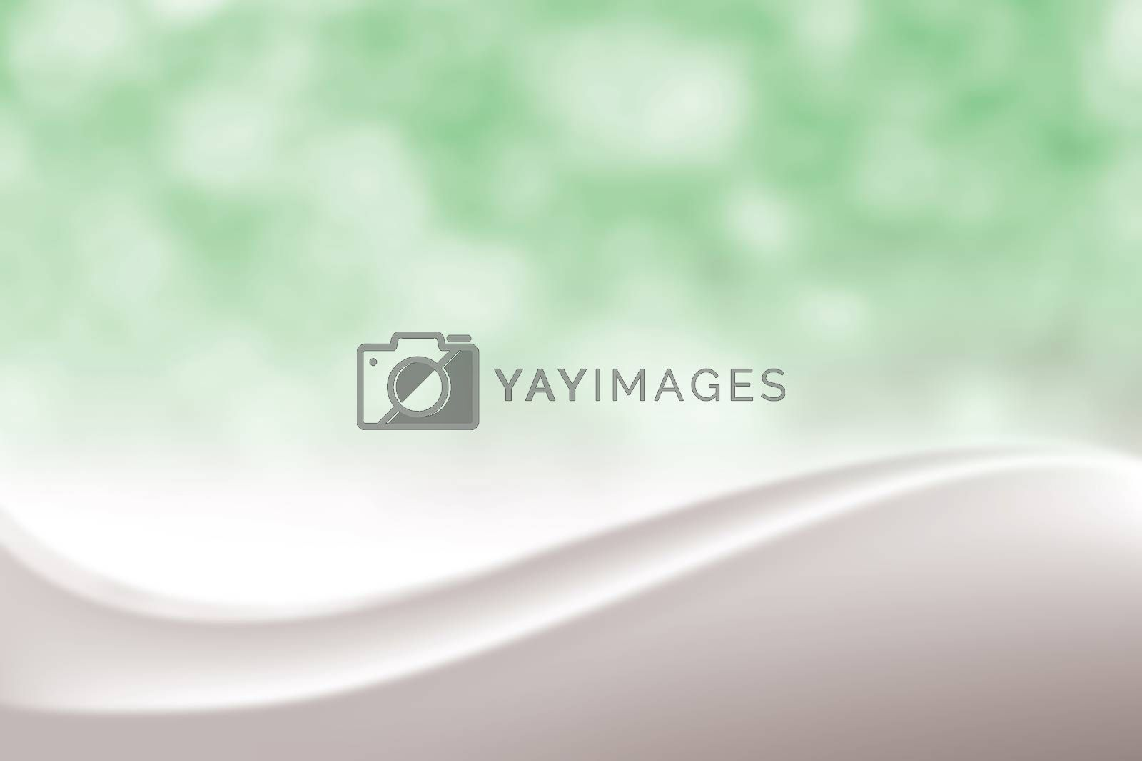 Royalty free image of Blurred Smooth green elegant soft beauty background, Luxurious Cosmetic backdrop Bokeh soft light shade, Gradient color tone sweet petal blur style luxury Abstract blurry colorful smooth illustration by cgdeaw