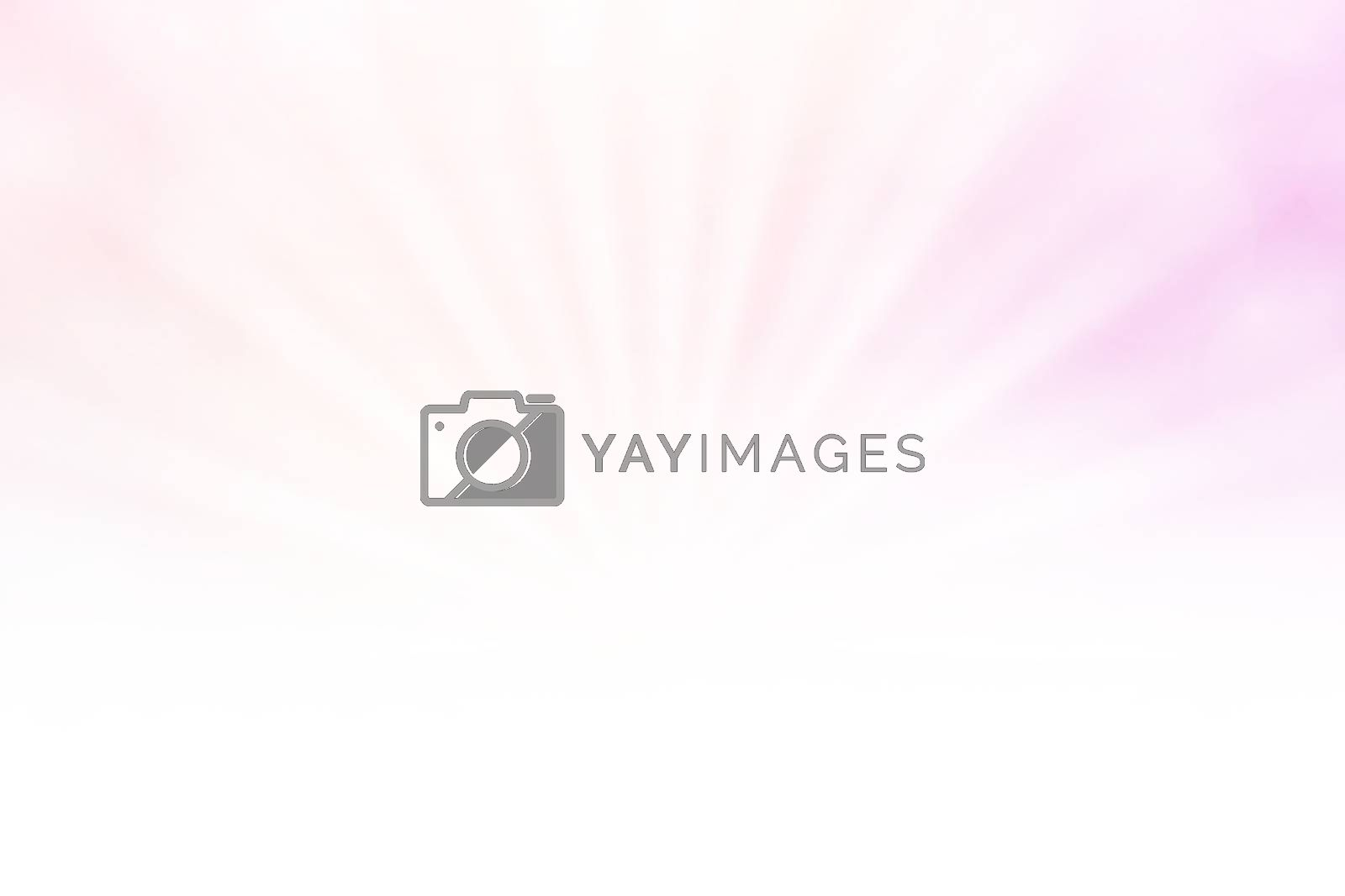Royalty free image of soft pink bokeh lights beam shine on gradient pink background and white copy space, bokeh colorful light pink soft shade, bokeh lights shine on gradient soft pink and white by cgdeaw