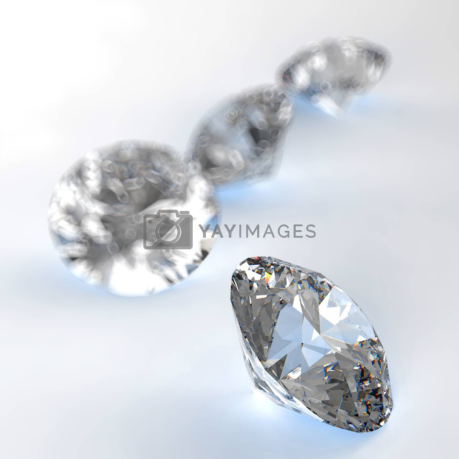 Royalty free image of Diamonds  by everythingpossible