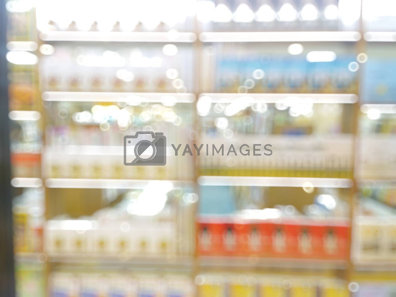 Royalty free image of technology retails with blurred bokeh background by everythingpossible