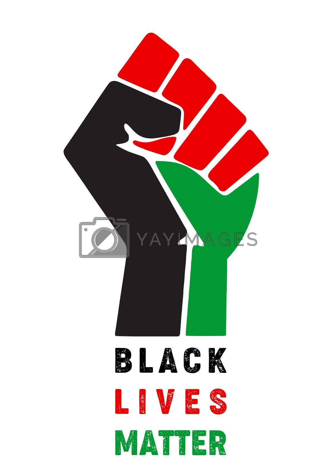 Royalty free image of Black Lives Matter by tony4urban