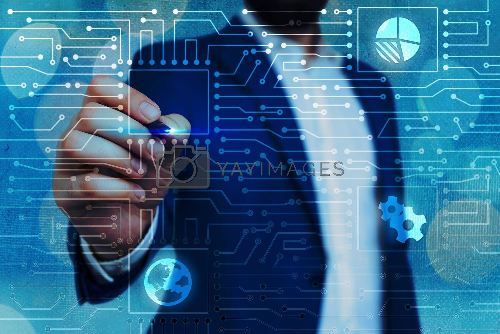 System Administrator Control, Gear Configuration Settings Tools Concept.