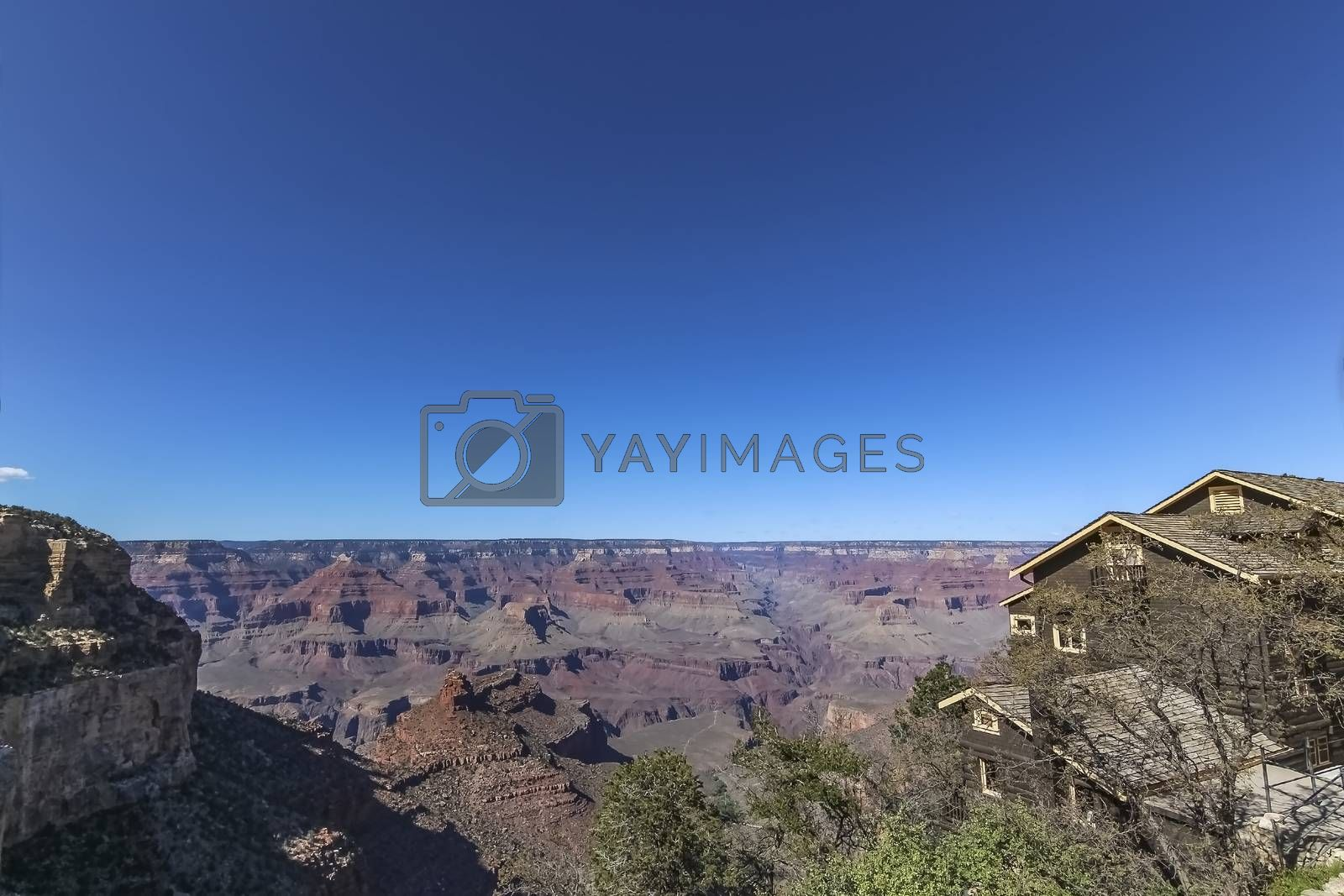 The Grand Canyon carved by the Colorado River in Arizona, United States, considered one the wonders of the world