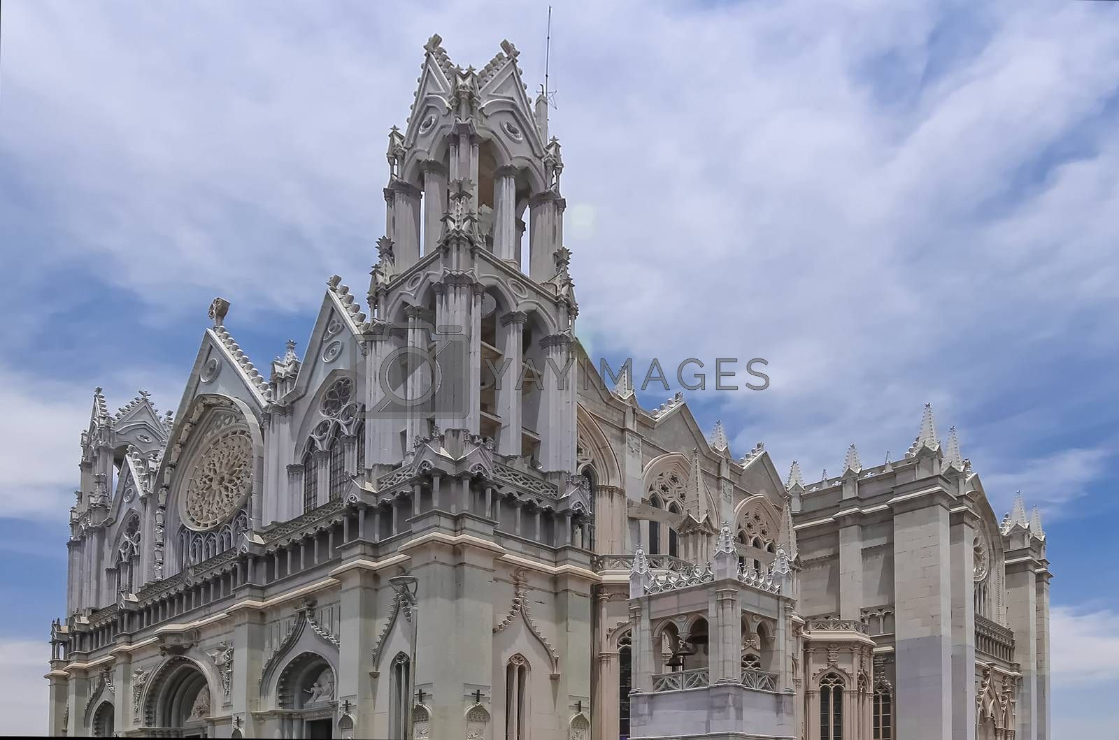 The Expiatory Temple of the Sacred Heart of Jesus, construction began in 1921 and was completed in 2012 with the visit of Pope Benedict XVI