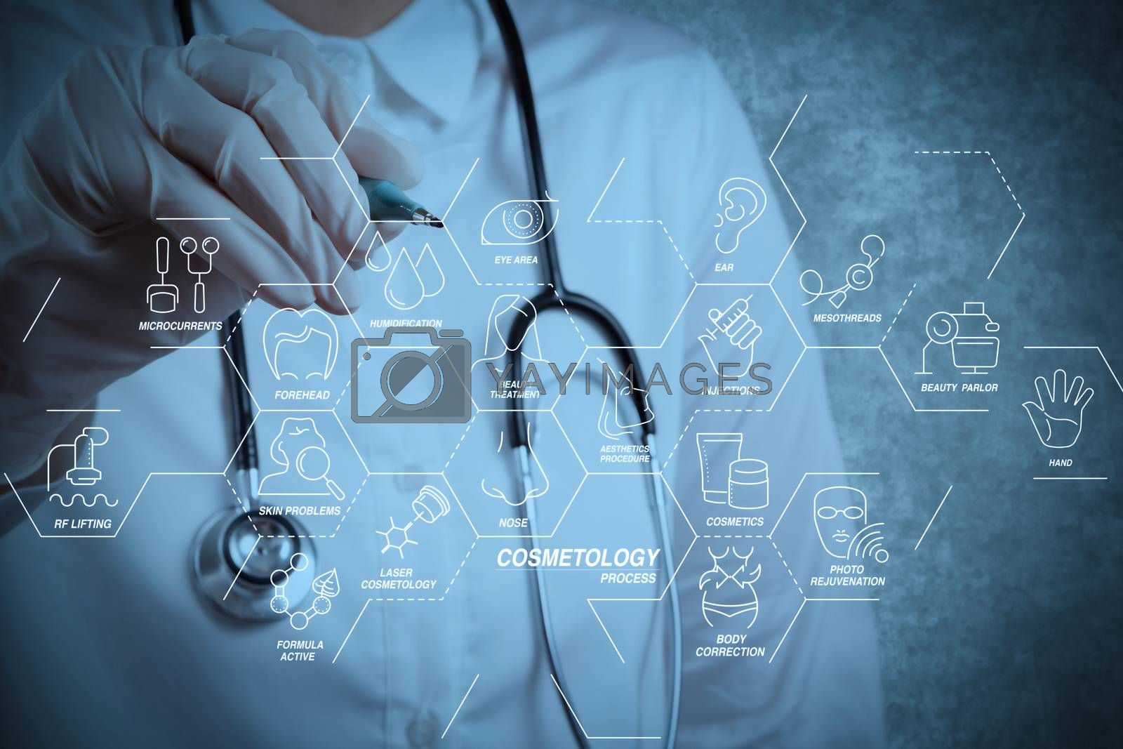 Royalty free image of smart doctor by everythingpossible