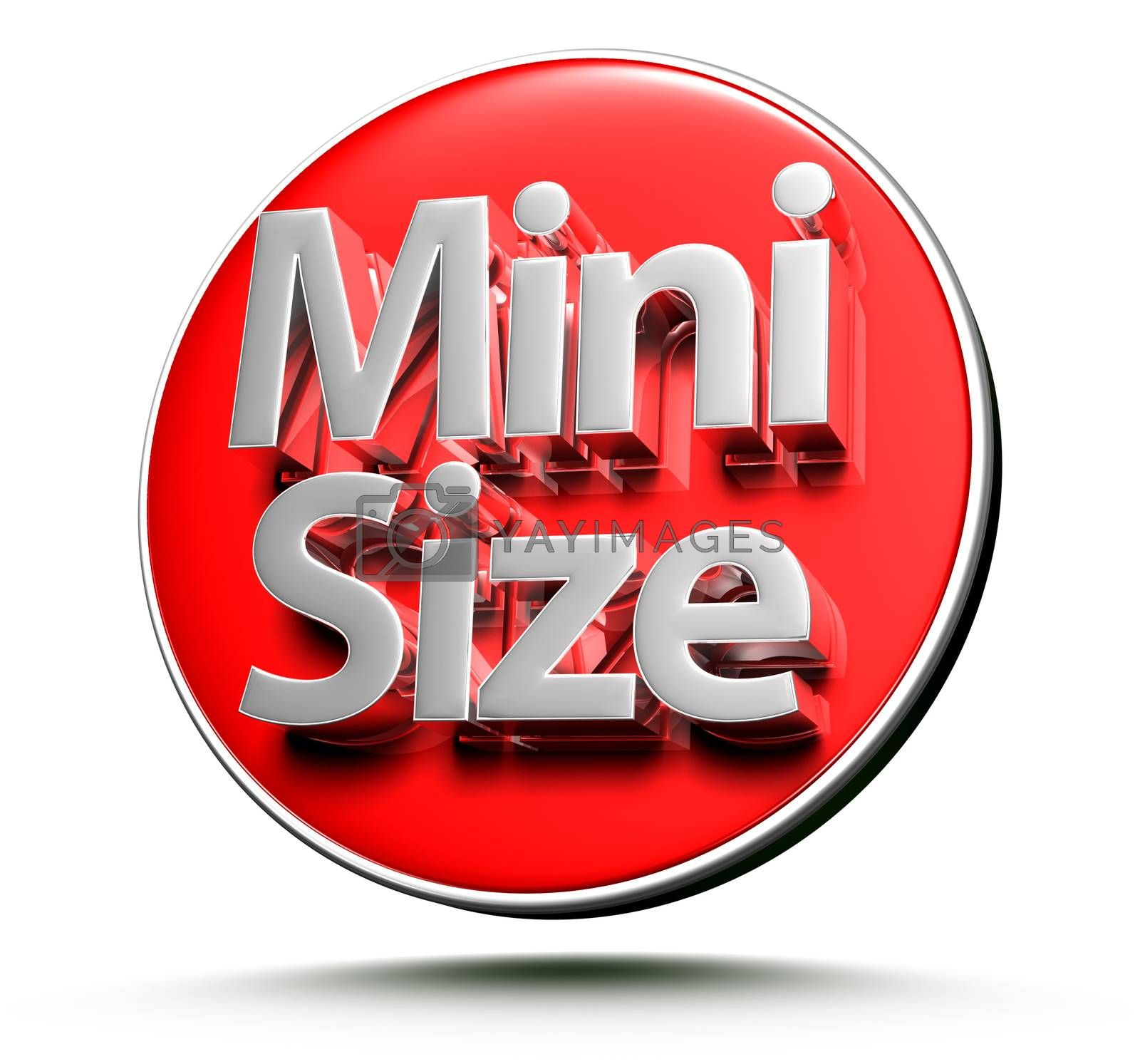 Signs Mini size 3d. by thitimon