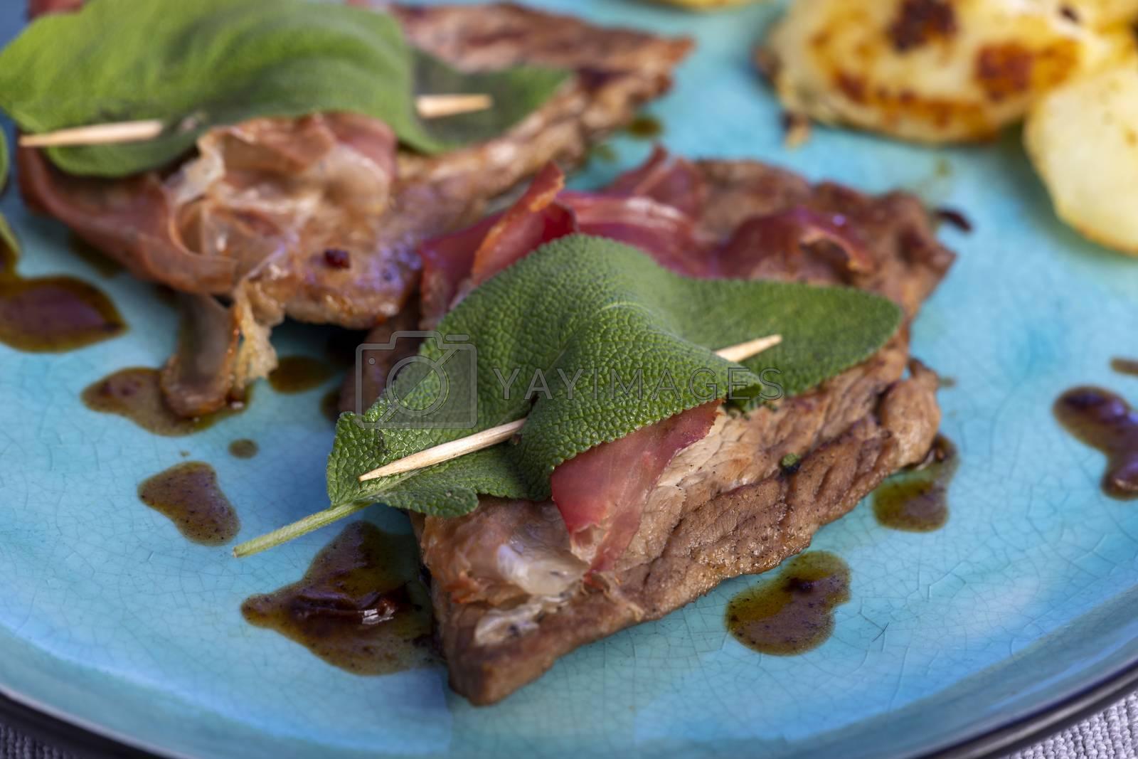 saltimbocca alla romana veal meat