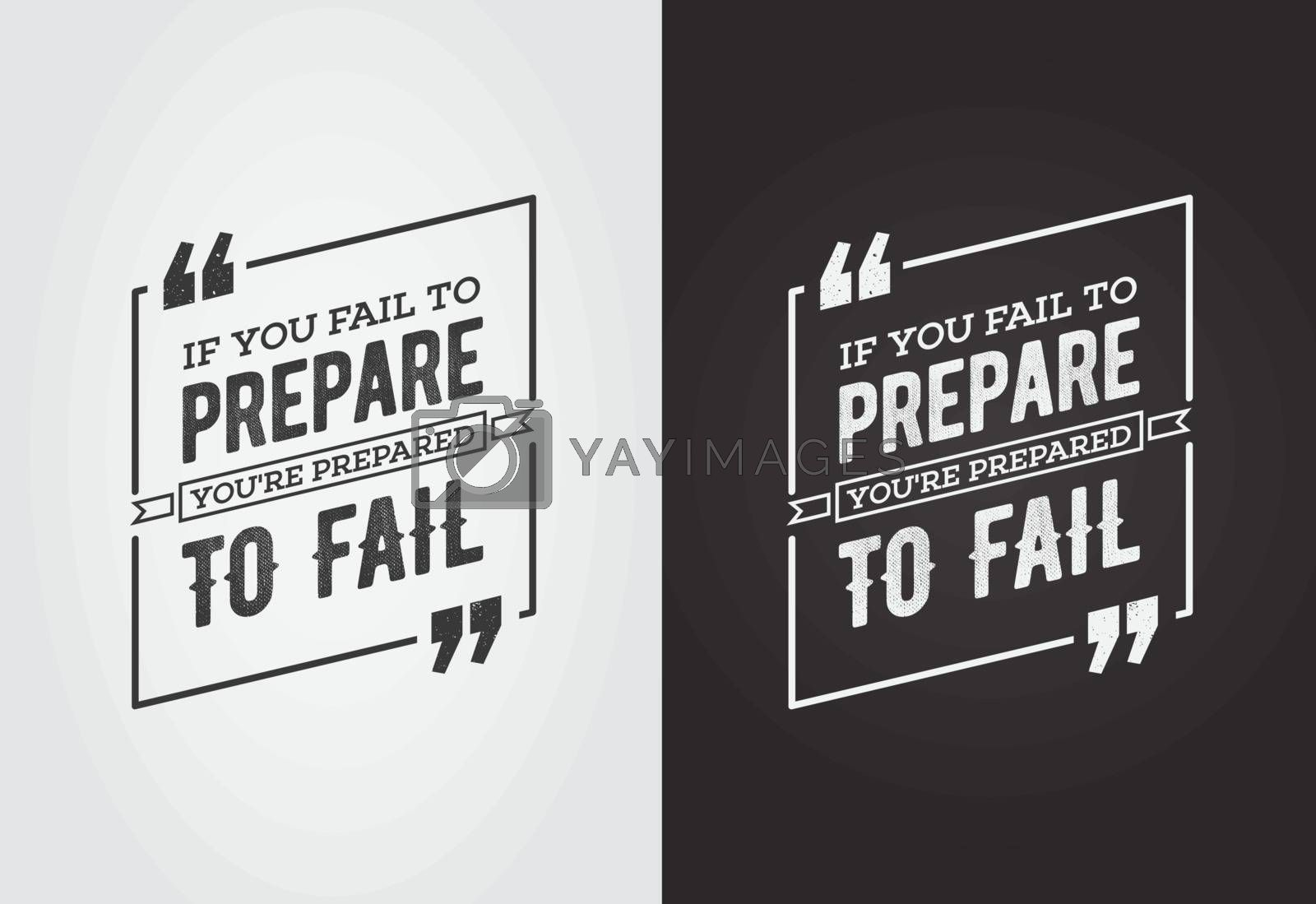 Typographic Quote Template Bubble. Template Vector Set