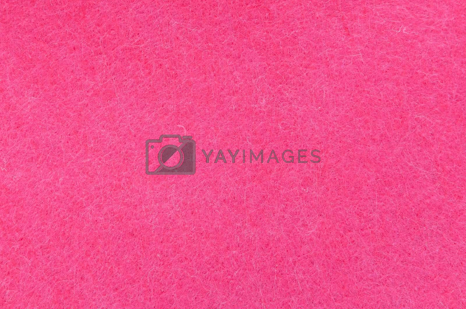 Texture background of Pink velvet or flannel as backdrop or wallpaper pattern for decoration