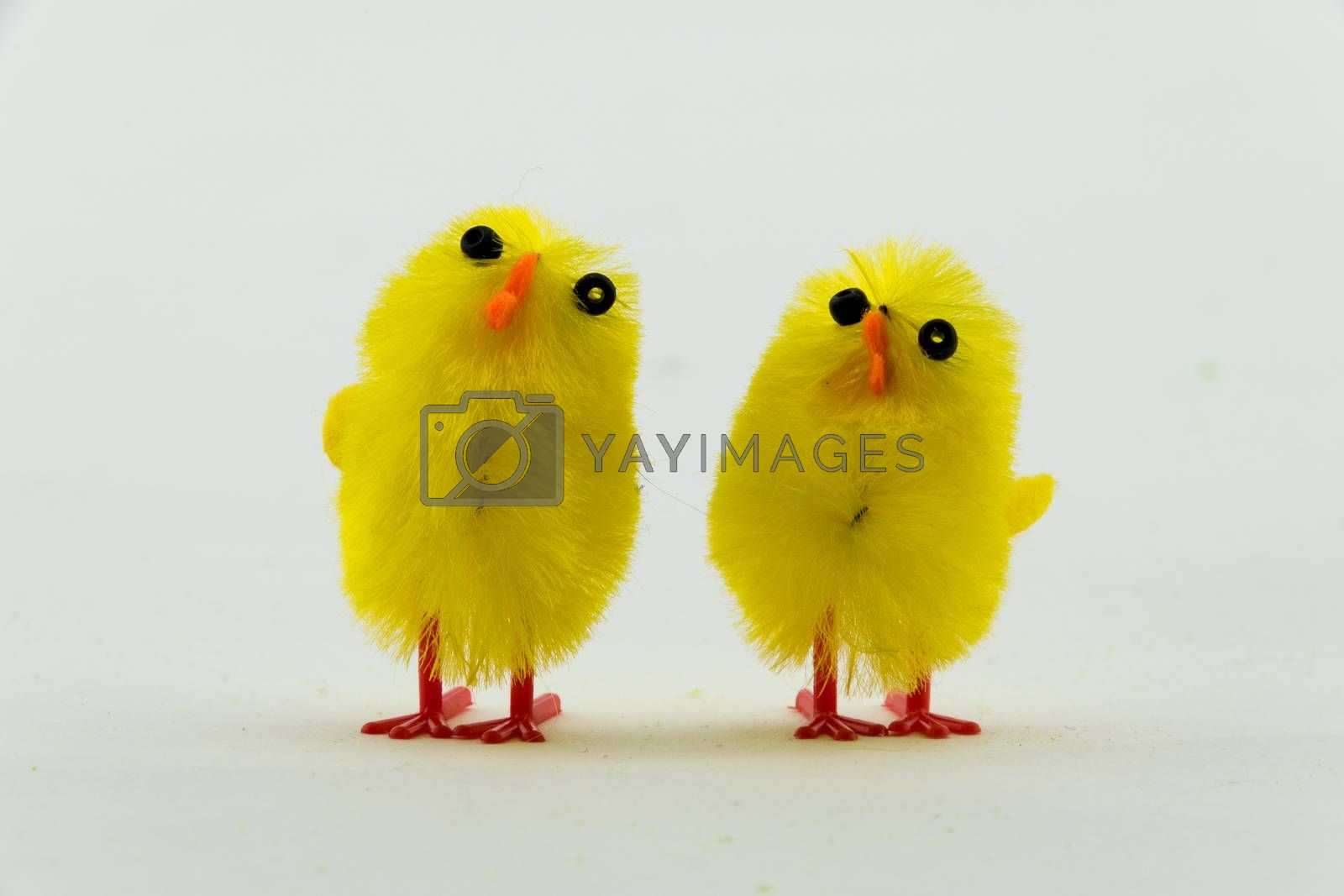 Yellow Easter Chicken decoration
