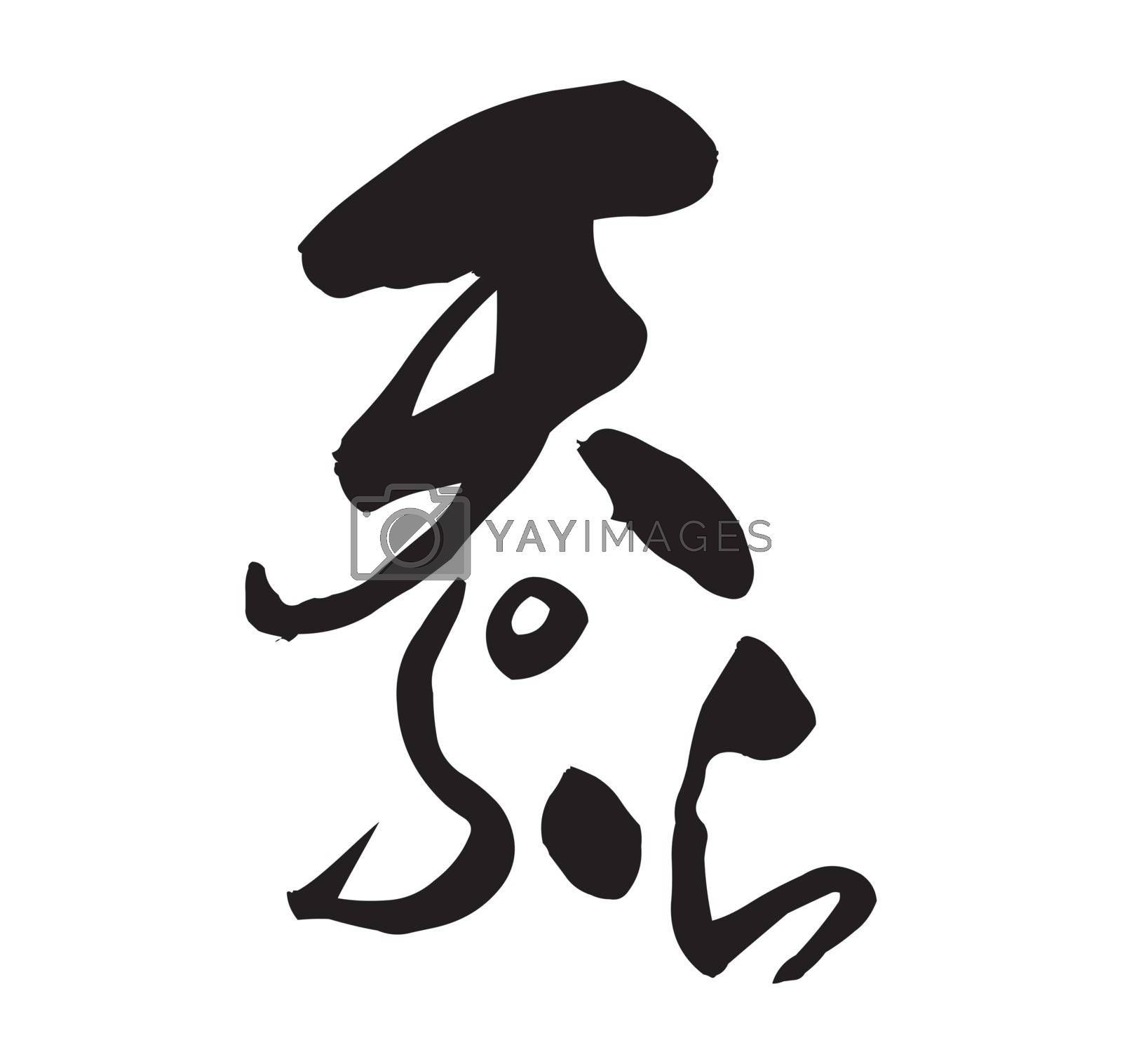 Japanese tempura restaurant traditional logo (original)