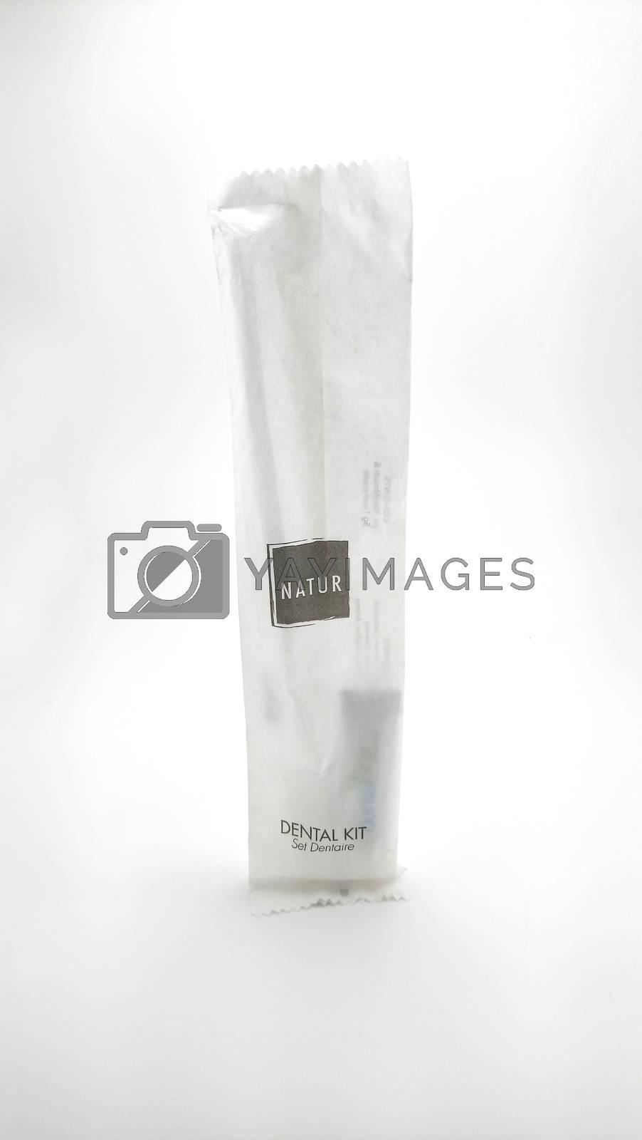 MANILA, PH - JUNE 23 - Natur dental kit on June 23, 2020 in Manila, Philippines.