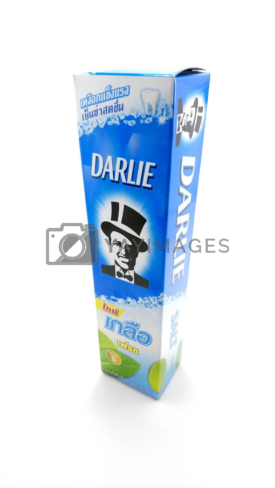 Darlie salt toothpaste in Manila, Philippines by imwaltersy