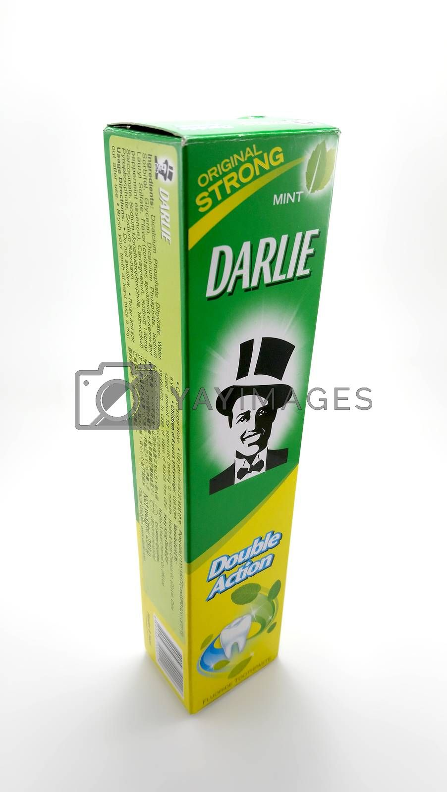 Darlie mint original strong toothpaste in Manila, Philippines by imwaltersy