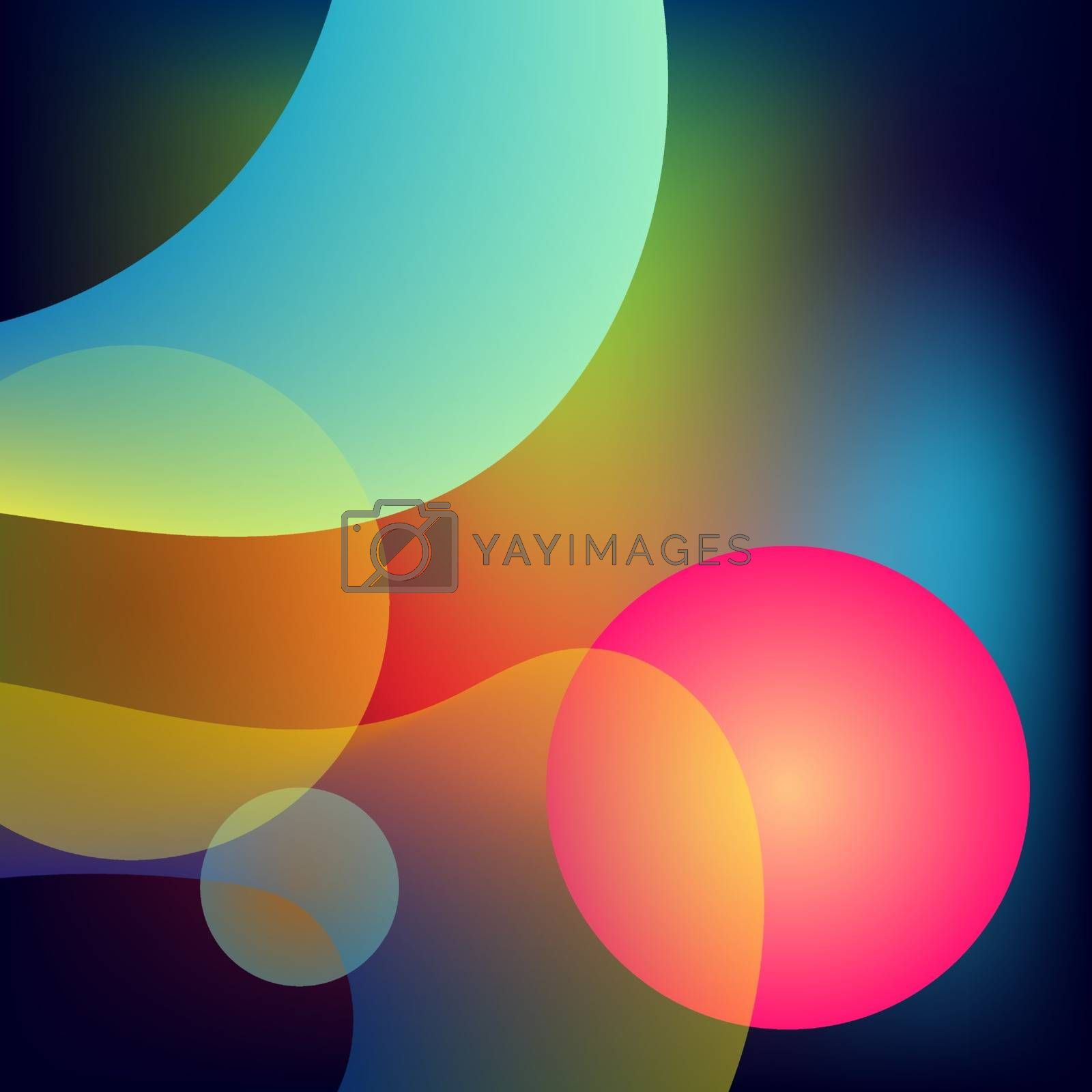 Abstract color fluid background. Liquid background. Vector