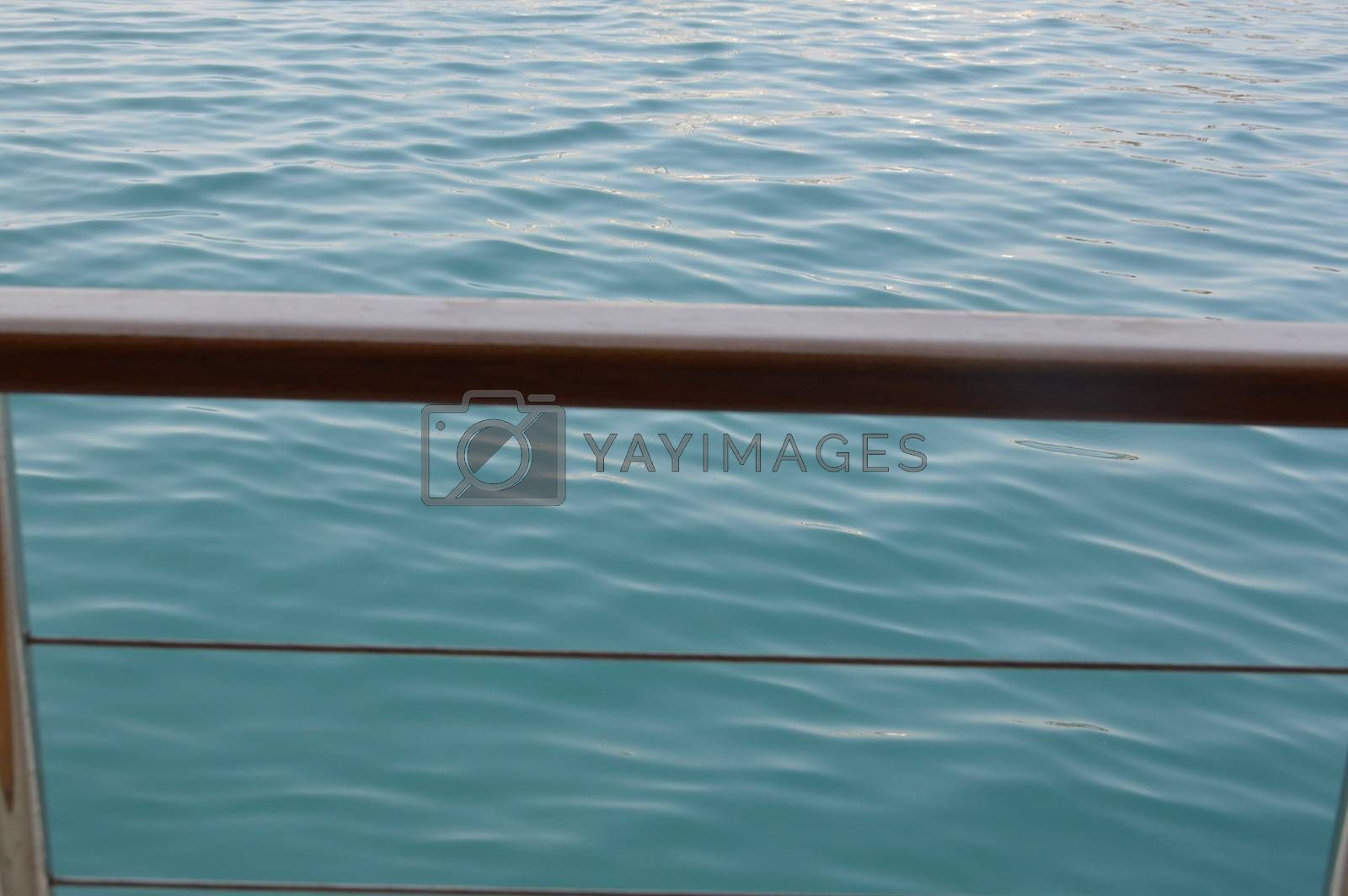 Yacht deck details and design the elements