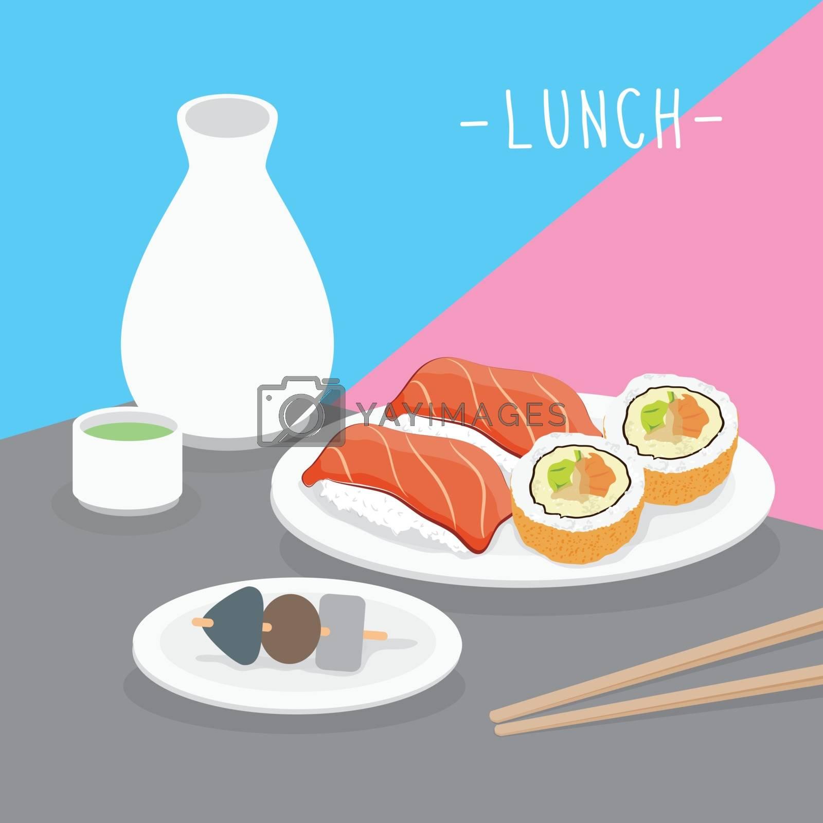 Food Meal Lunch Dairy Eat Drink Menu Restaurant Vector