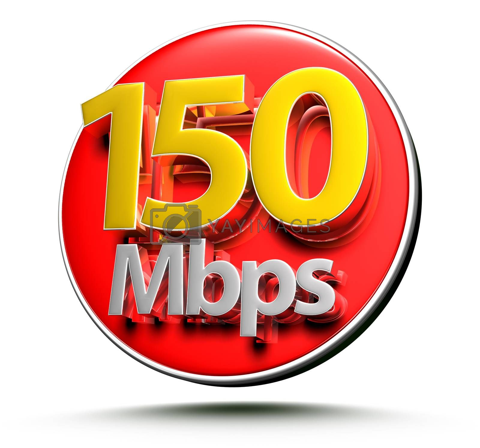 150 mbps 3d. by thitimon