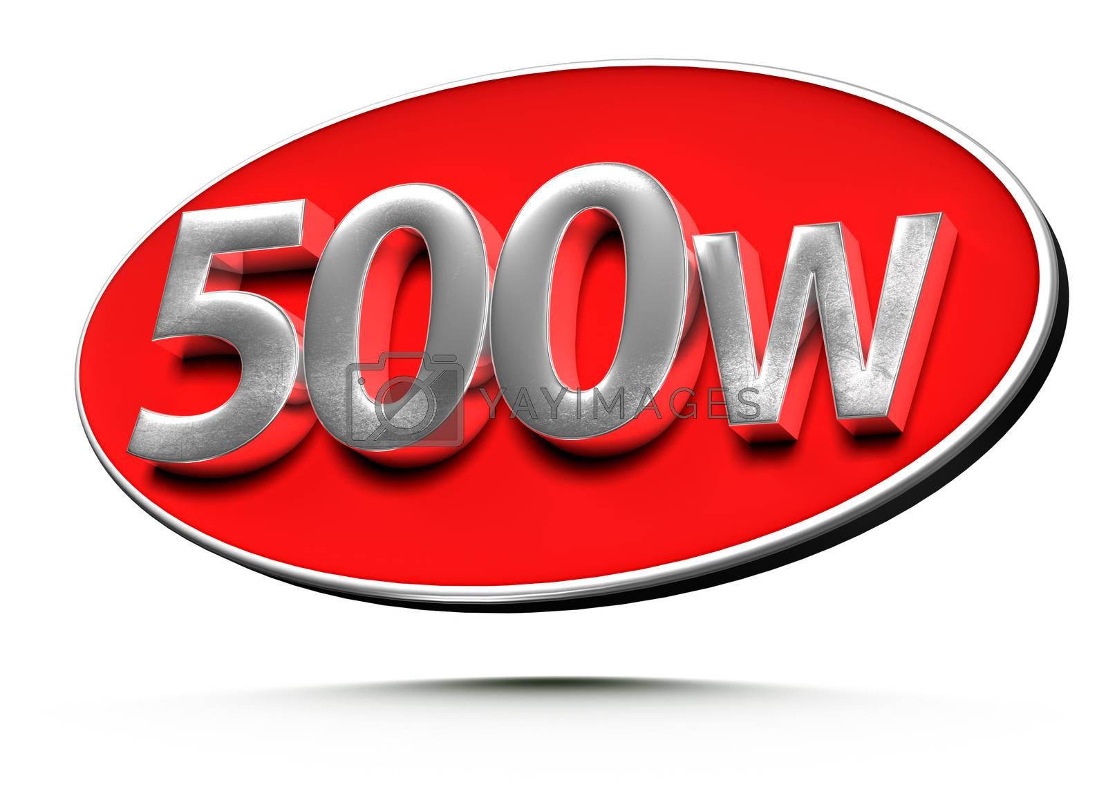 500w 3d. by thitimontoyai