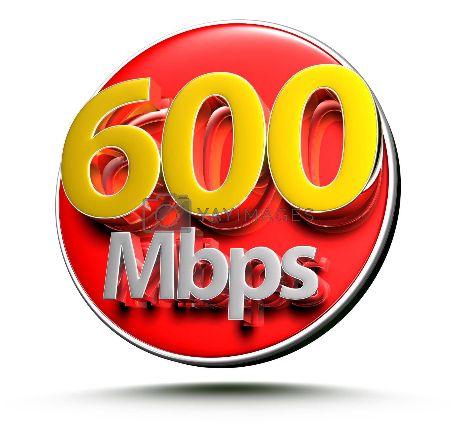 600 mbps 3d. by thitimon