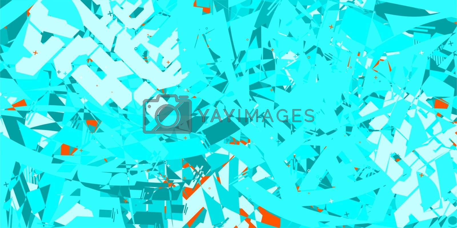 Abstract Pattern Vector Illustration Geometric Background Art. Vector illustration