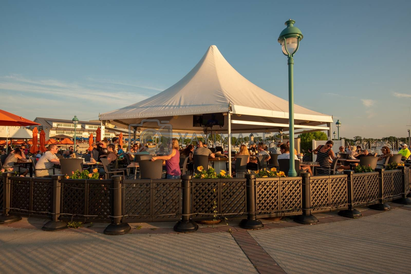 Outdoor Cocktails and Dining in Belmar by jfbenning