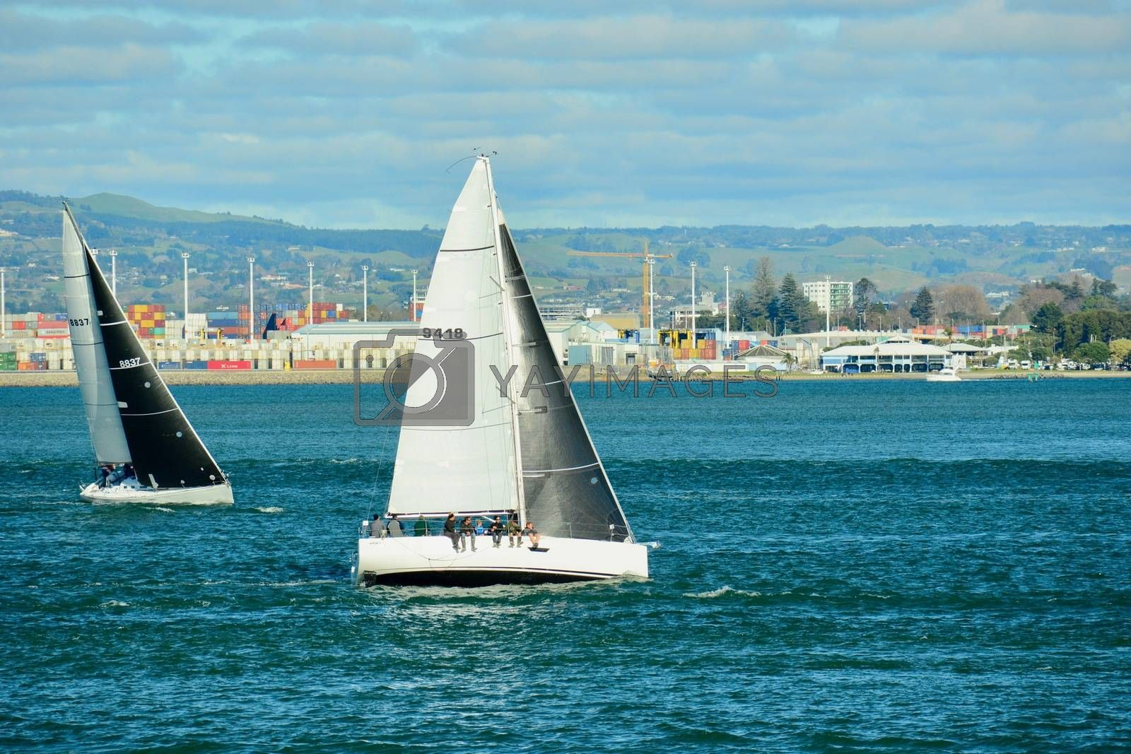 Yacht Club with its enjoyable racing for all boats and crew.