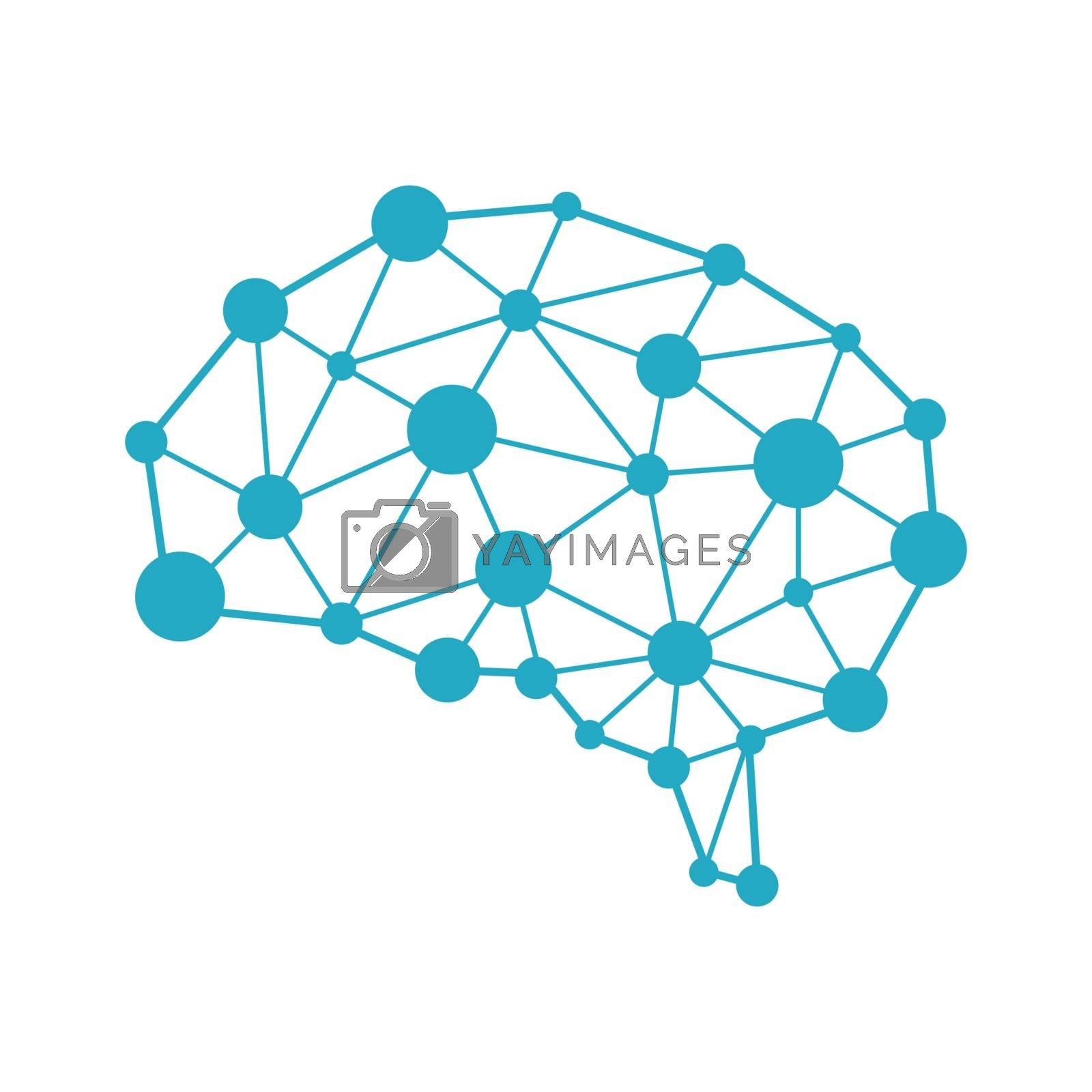 Royalty free image of AI ( artificial intelligence ) image illustration. by barks