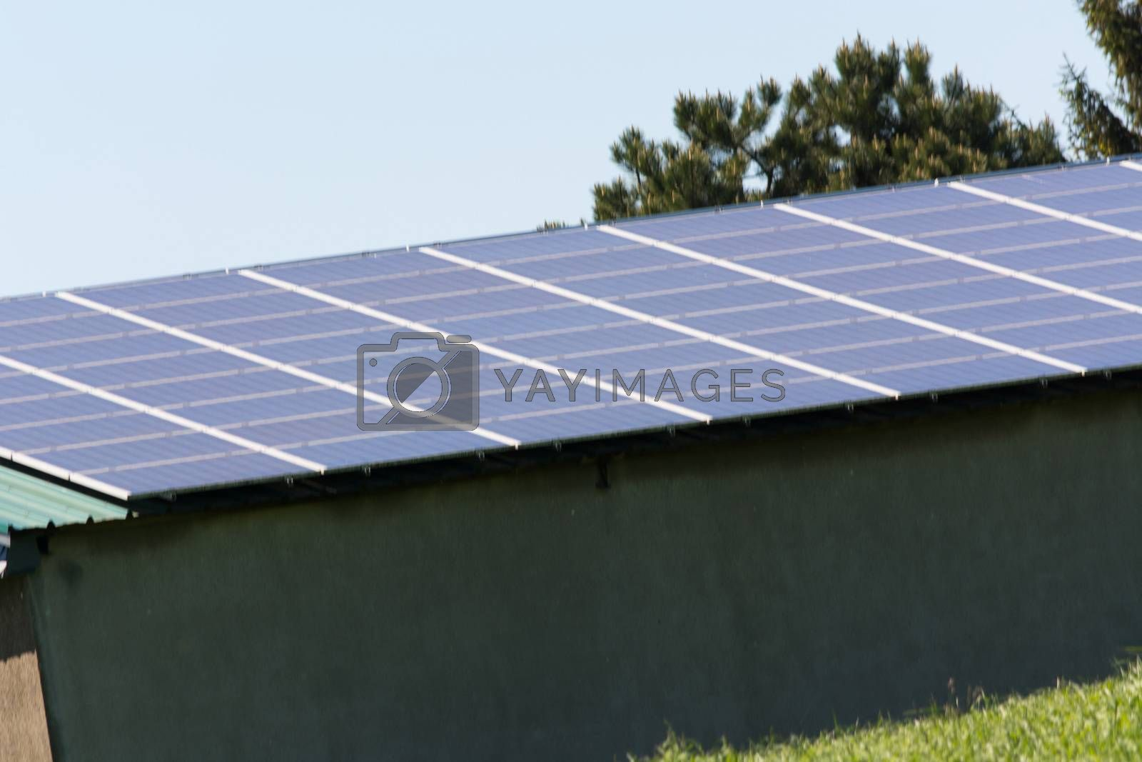 Solar panel, photovoltaic, alternative power source - concept of sustainable resources