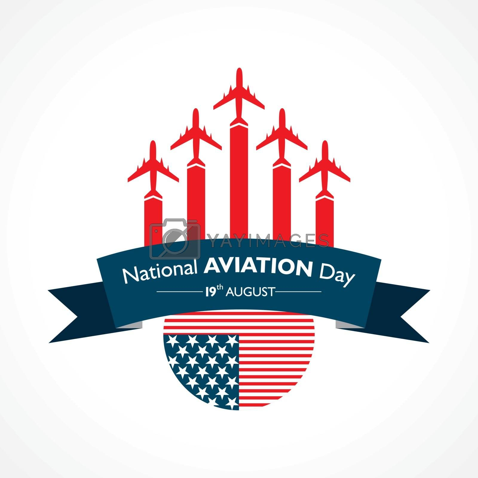 National Aviation Day which is Celebrated in United States in August 19 by graphicsdunia4you