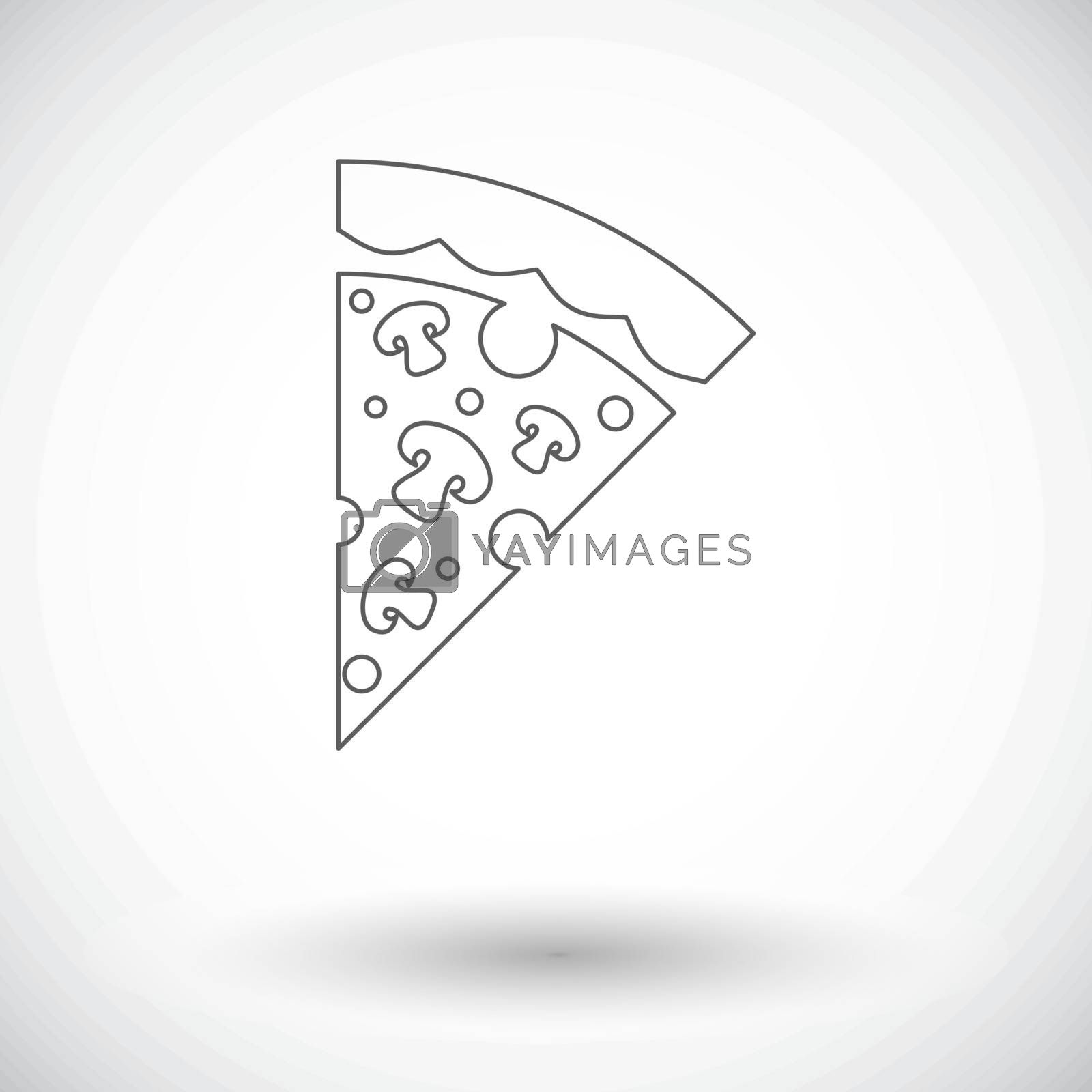 Pizza icon by smoki