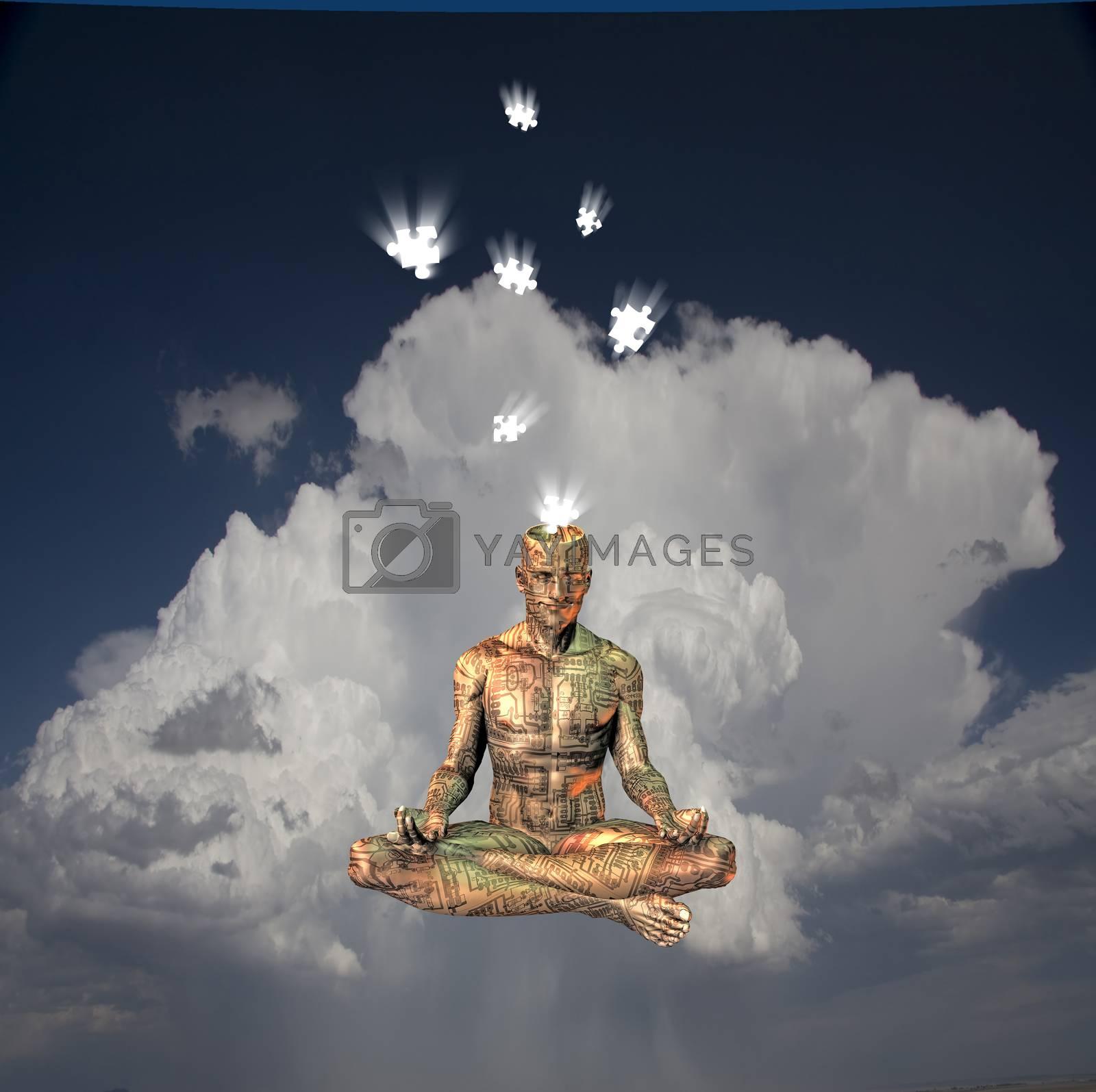 Meditation by applesstock