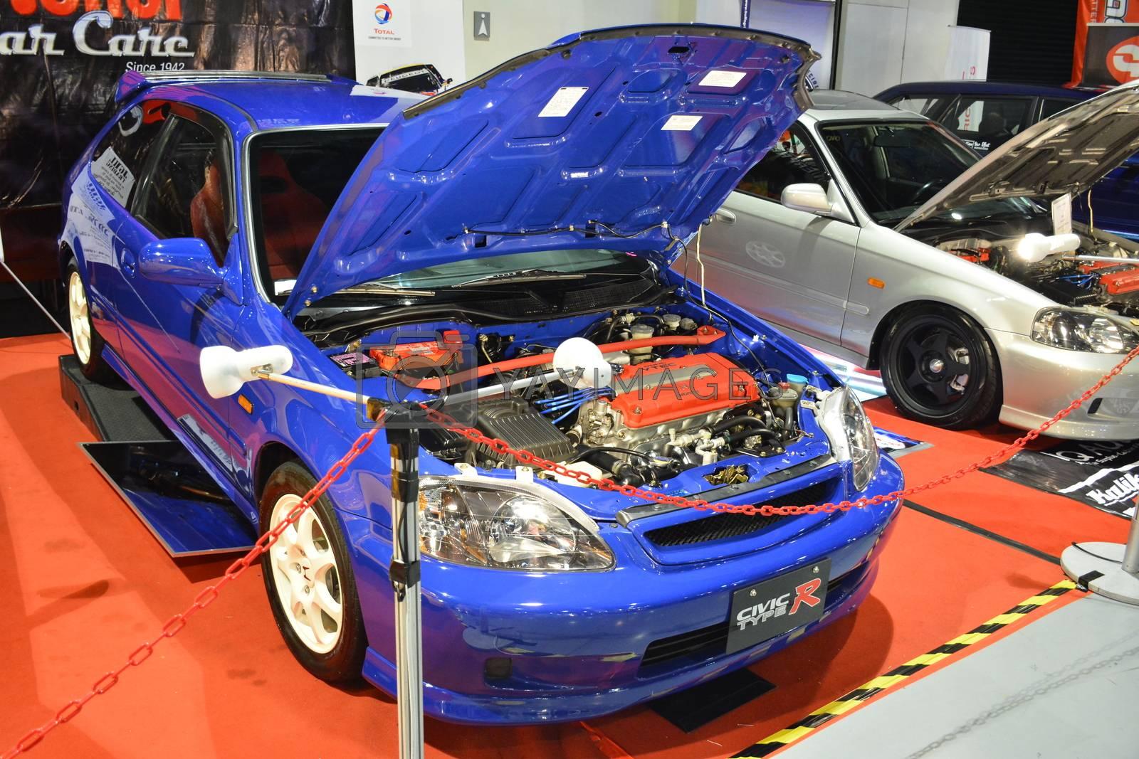 PASAY, PH - MAY 25 - Honda civic at 25th Trans Sport Show on May 25, 2019 in Pasay, Philippines.