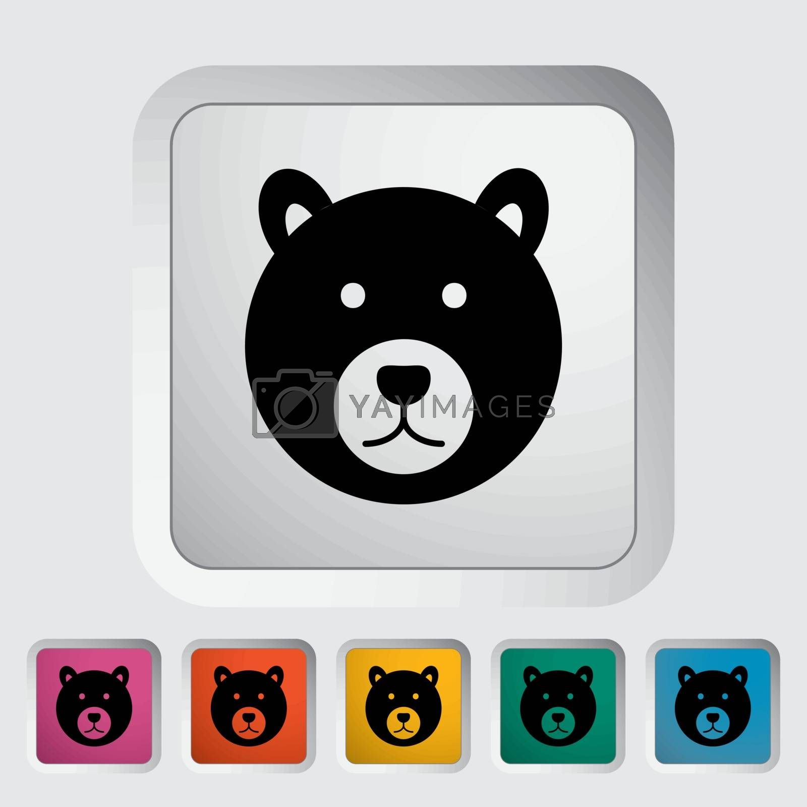 Bear icon by smoki