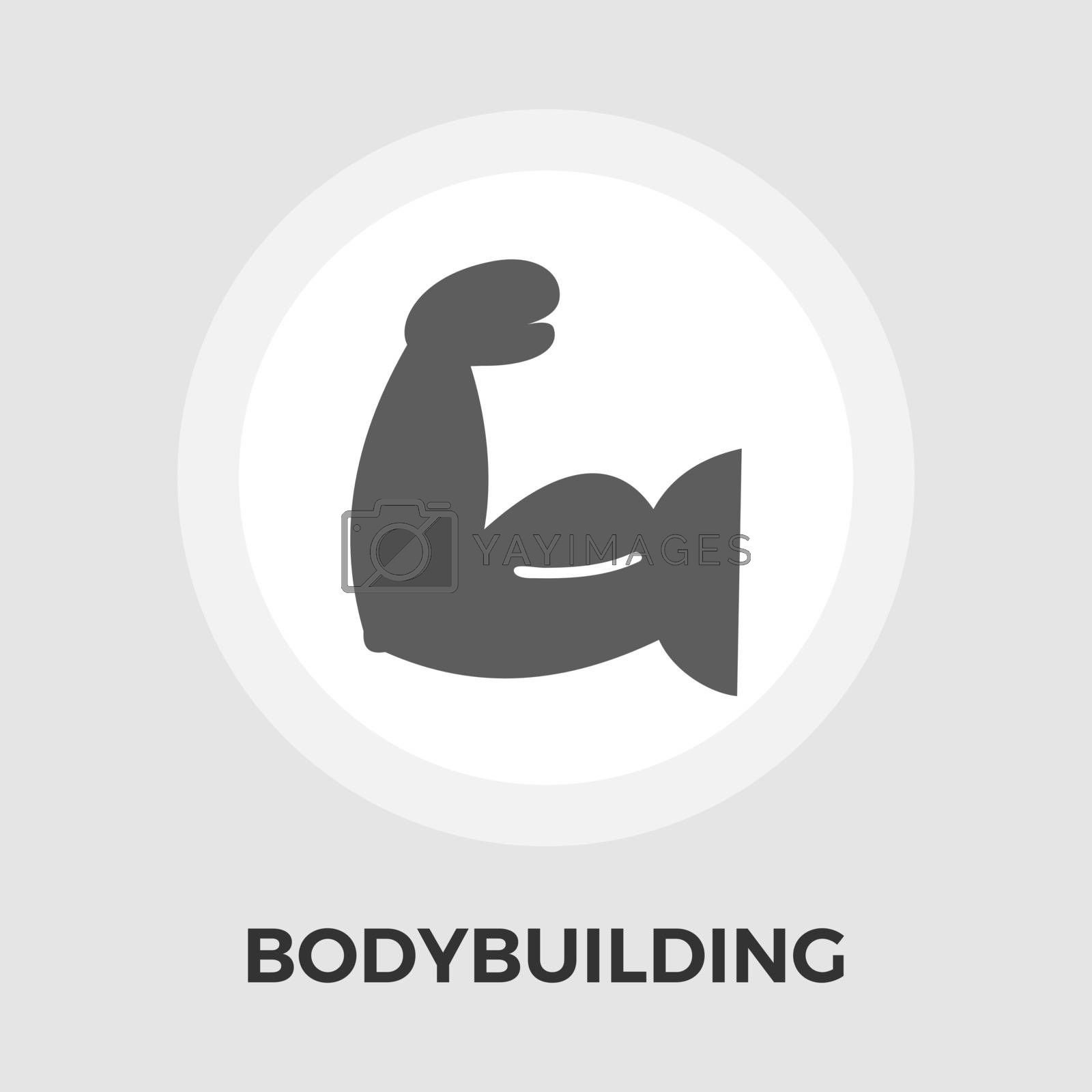 Bodybuilding Vector Flat Icon by smoki