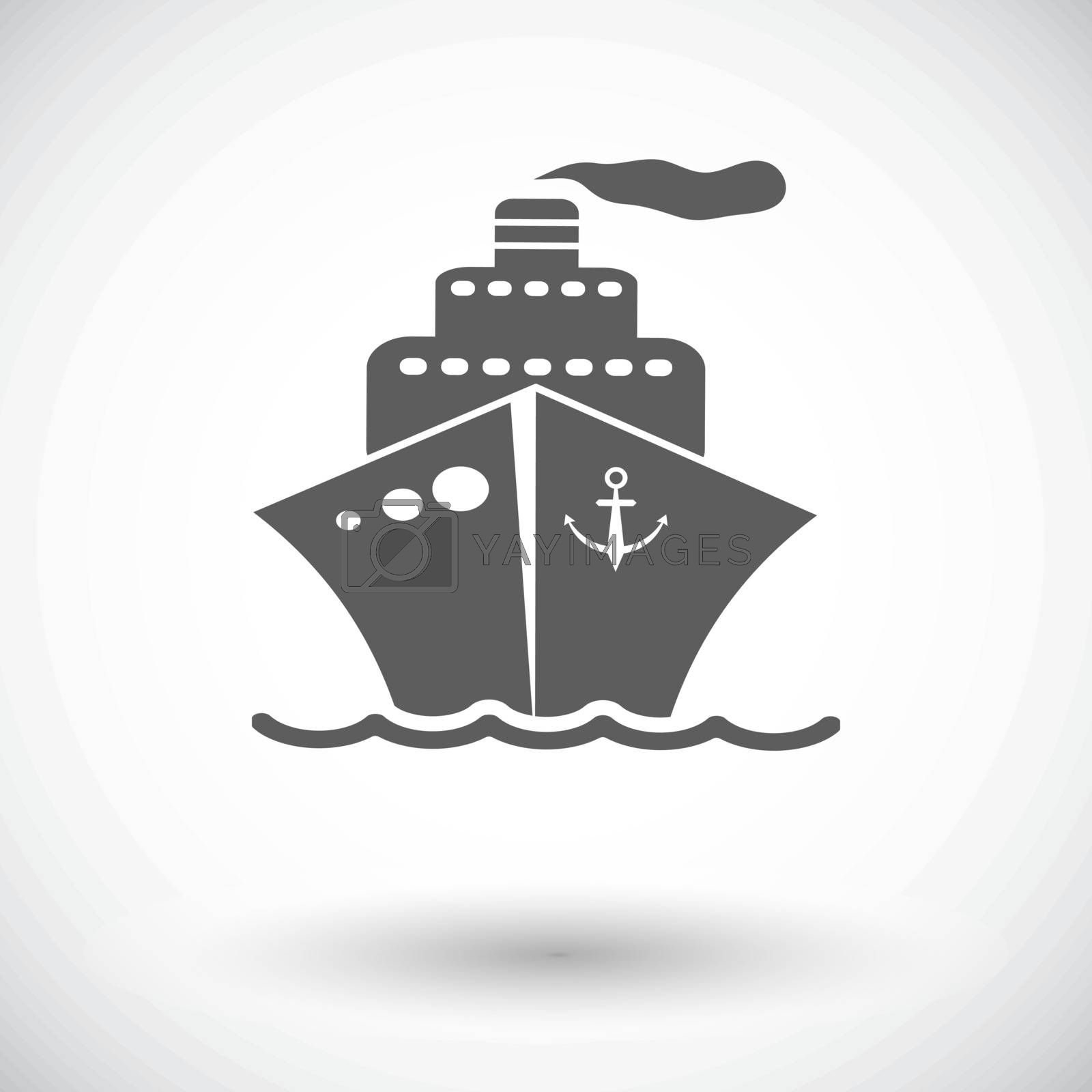 Ship icon. by smoki