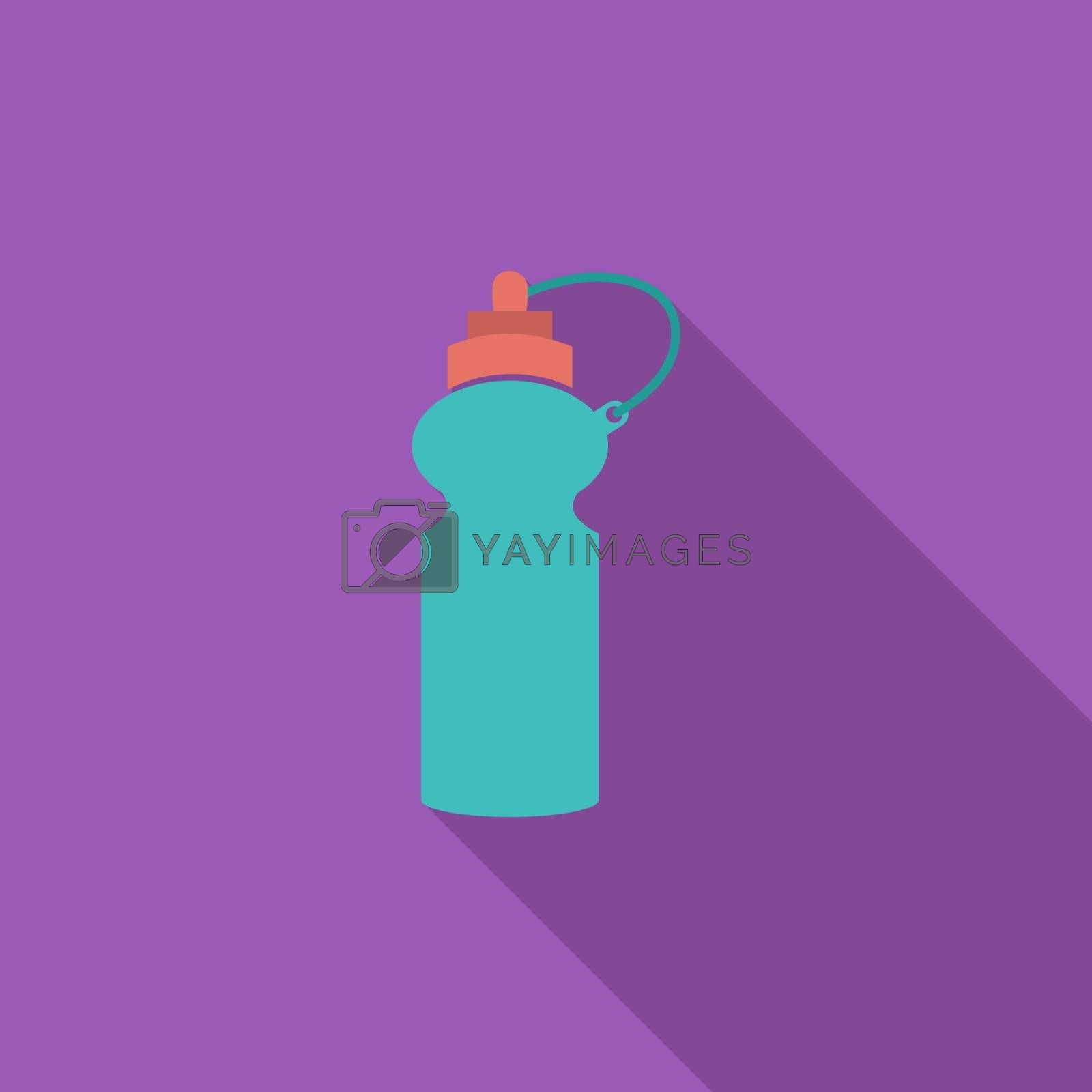Sports water bottle icon. by smoki