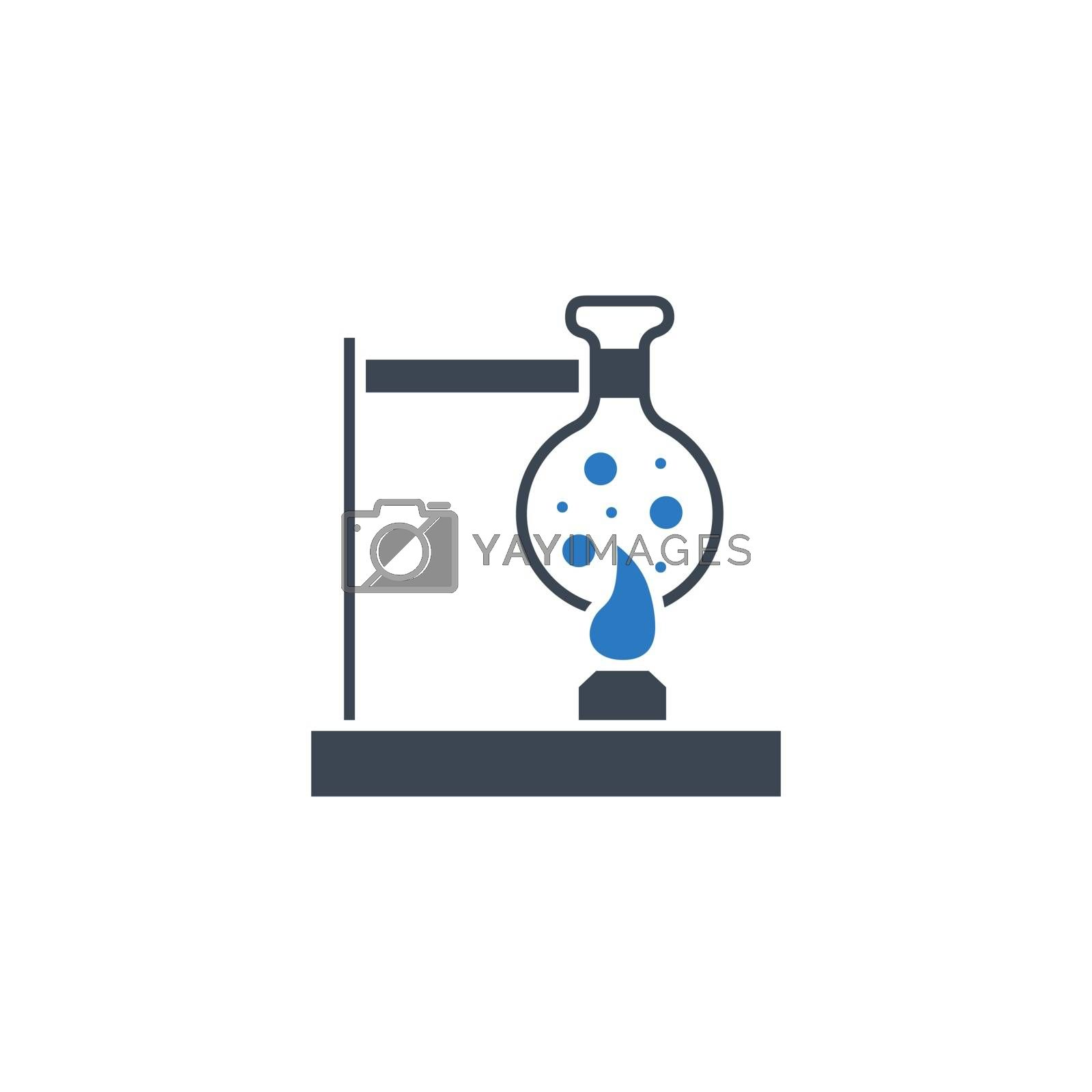 Tube Research related vector glyph icon. by smoki