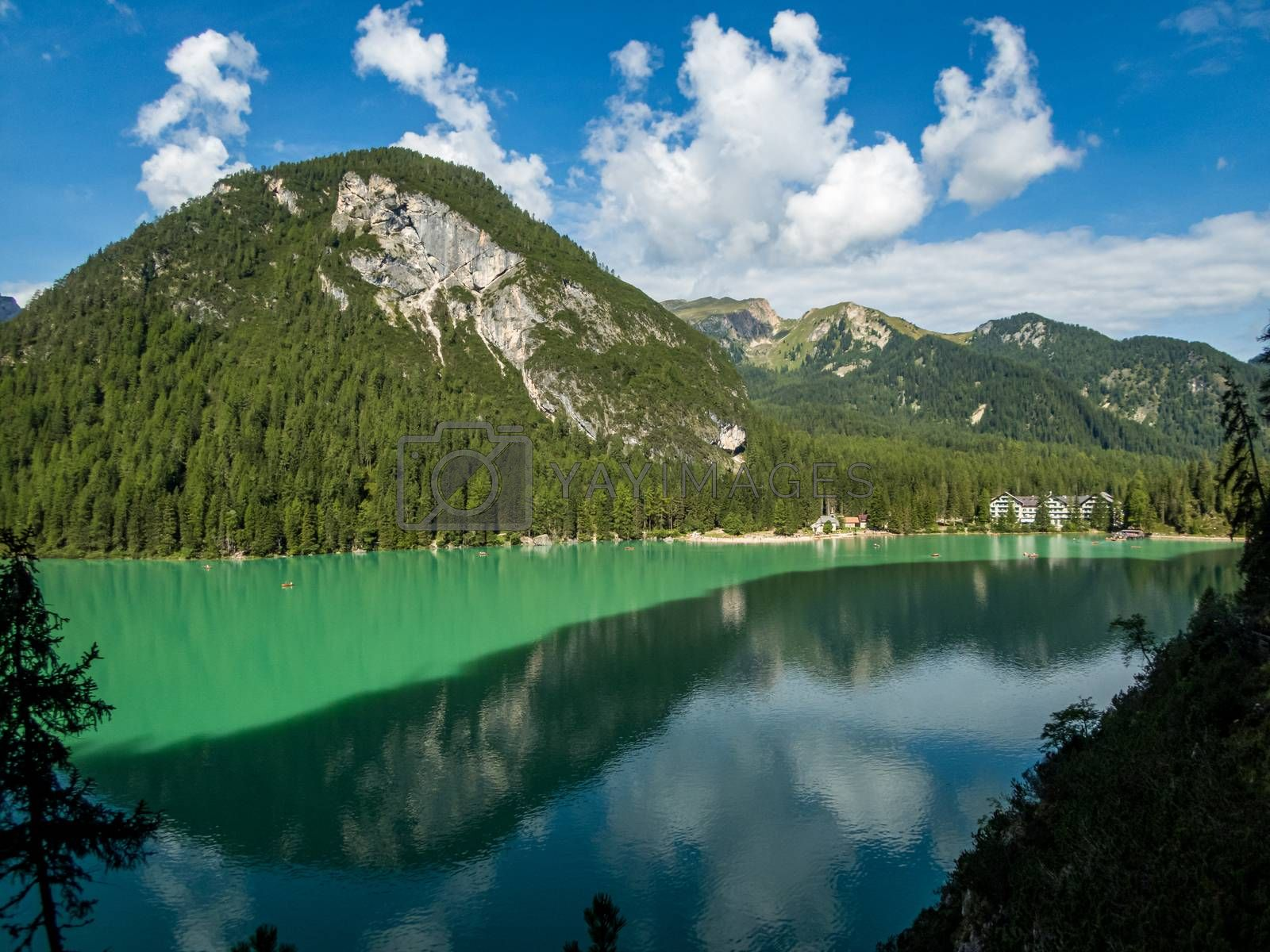 Pragser Wildsee in the Dolomites, South Tyrol by mindscapephotos