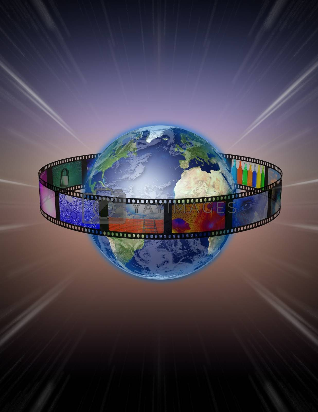 Film Encircled Earth