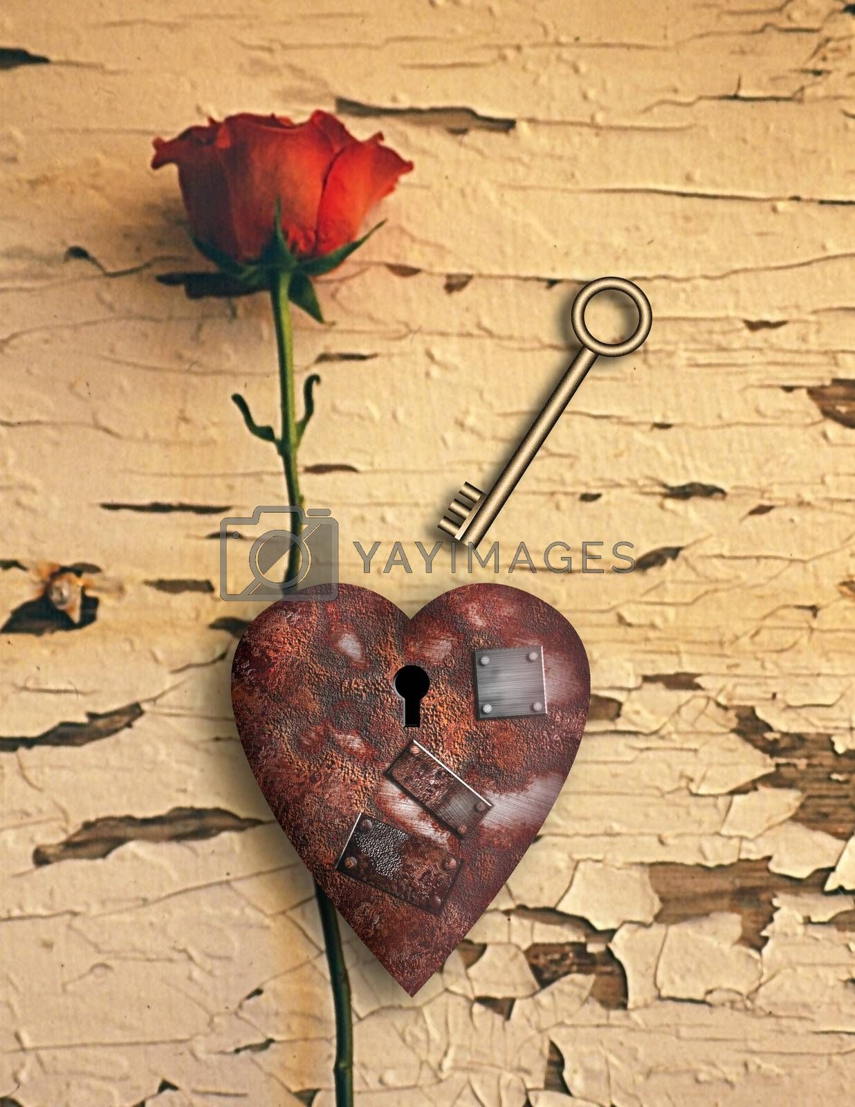 Rusted love by applesstock