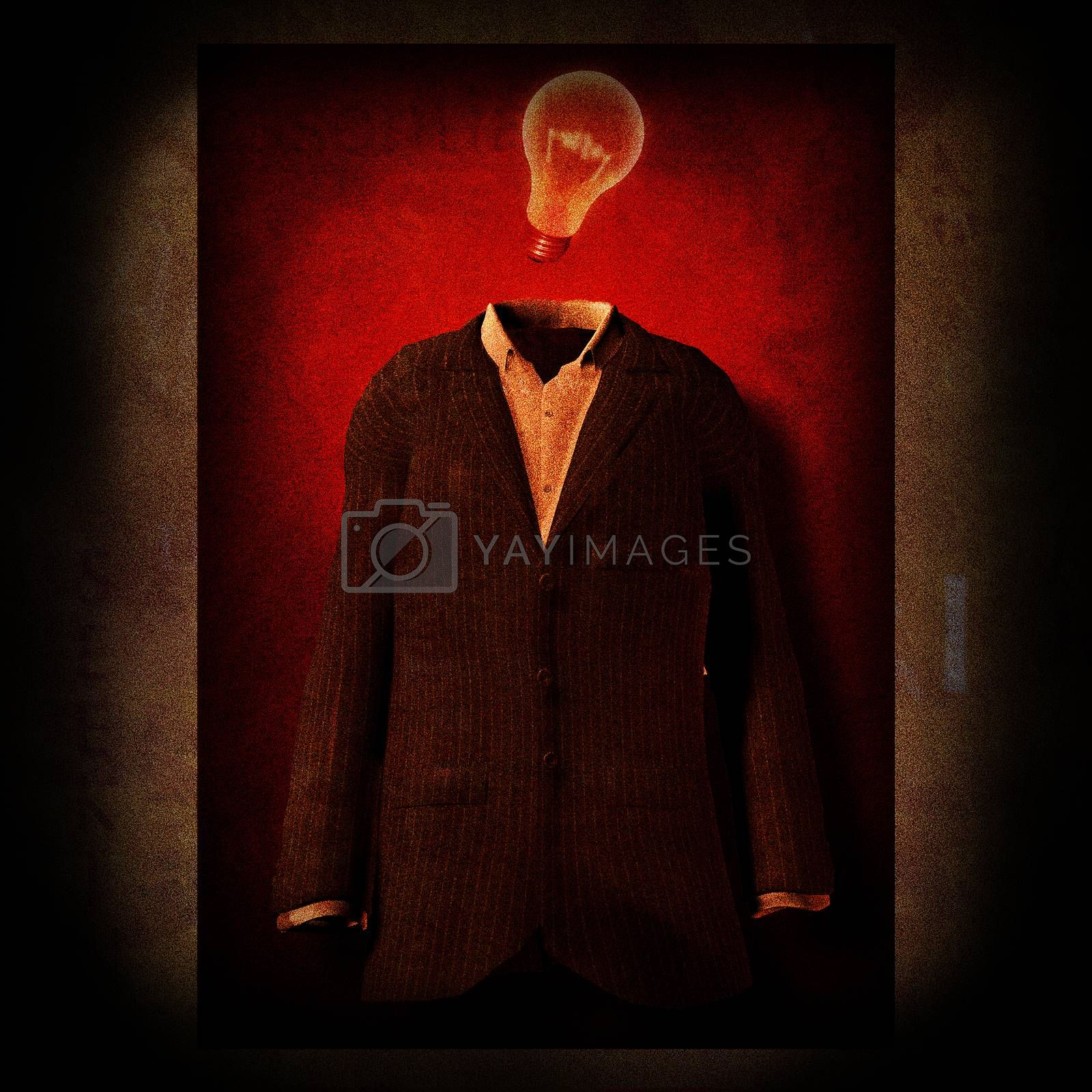 Suit made Idea by applesstock
