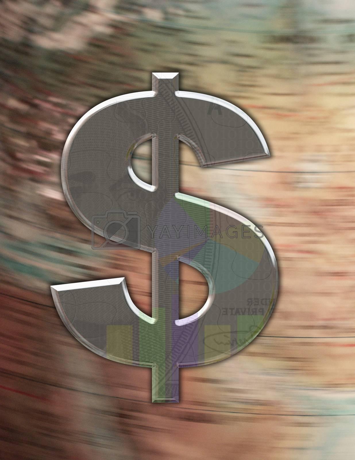 Dollar Sign by applesstock