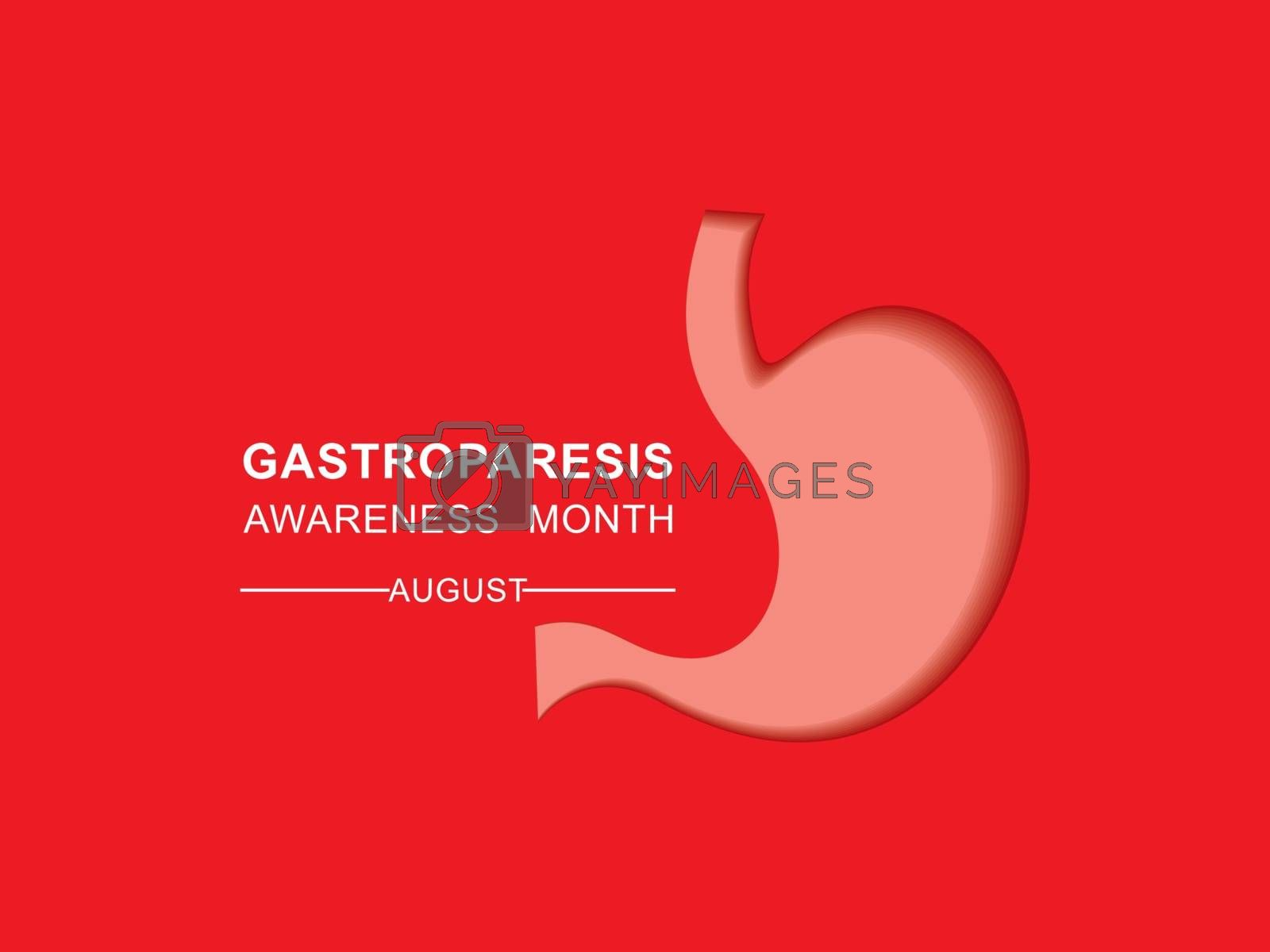 Gastroparesis Awareness Month observed in August by graphicsdunia4you
