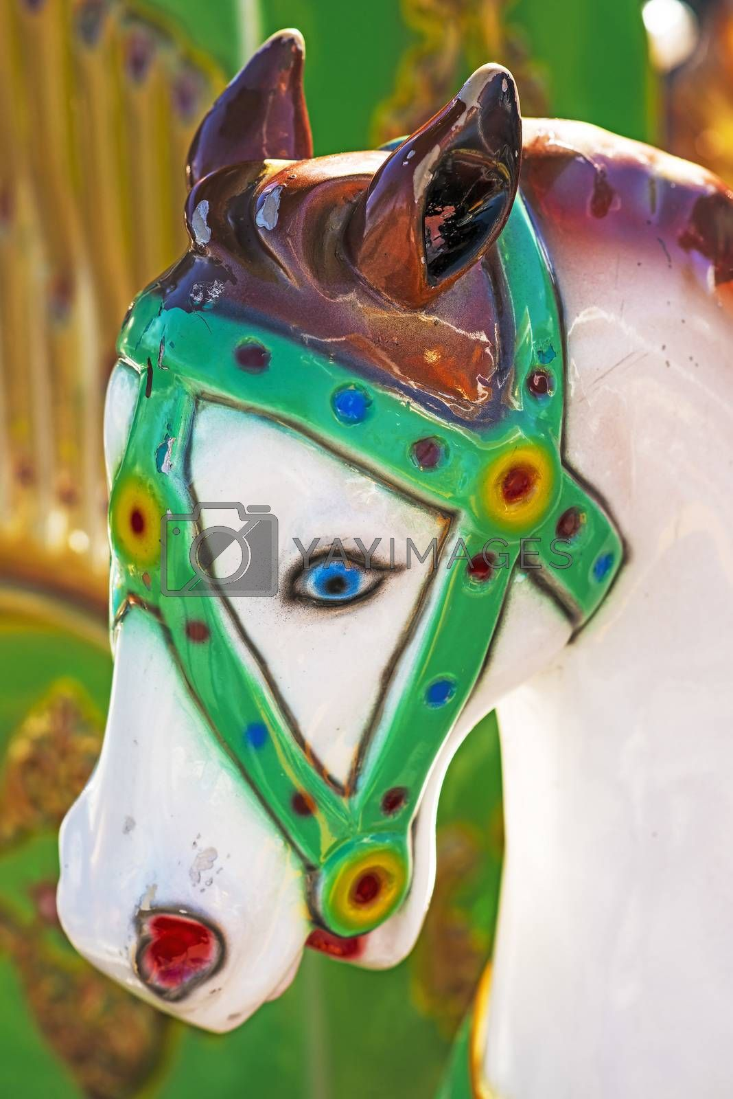 horse of a carousel