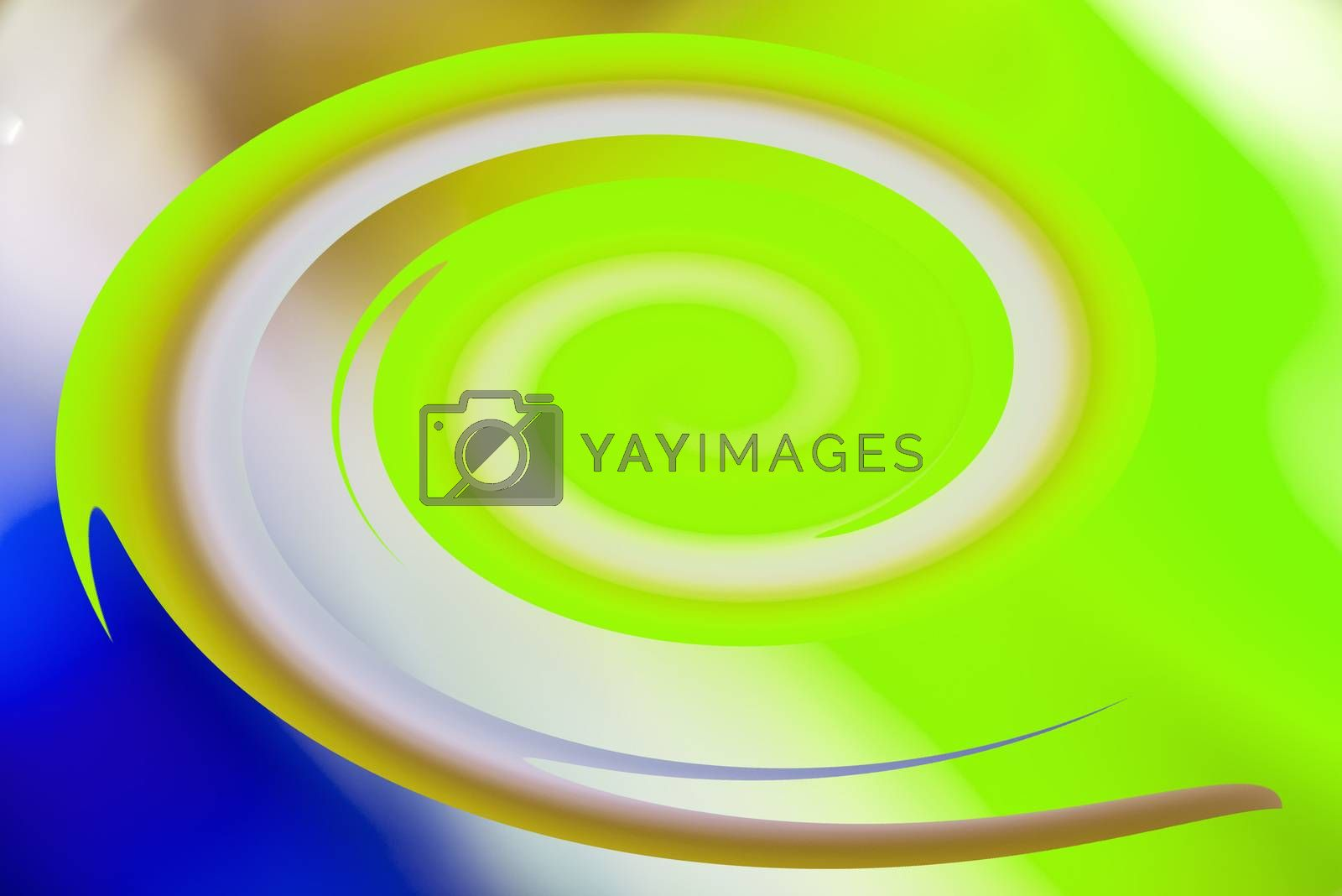 colorful spiral by bremse