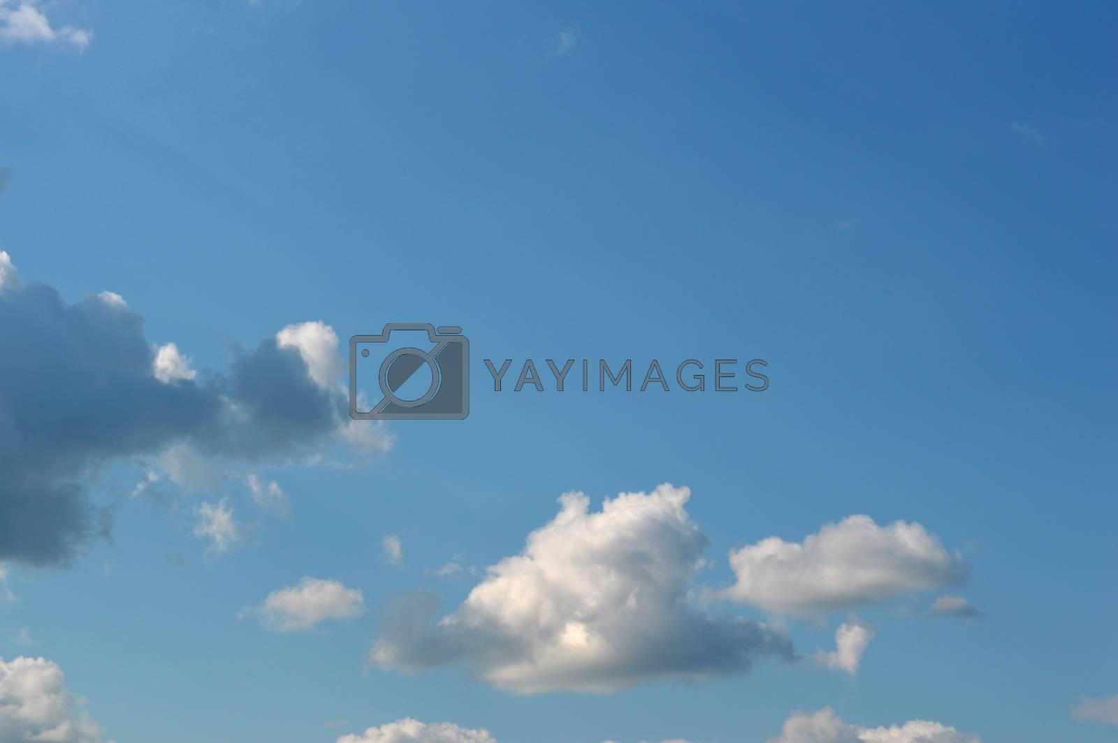 Beautiful summer sky by sergpet