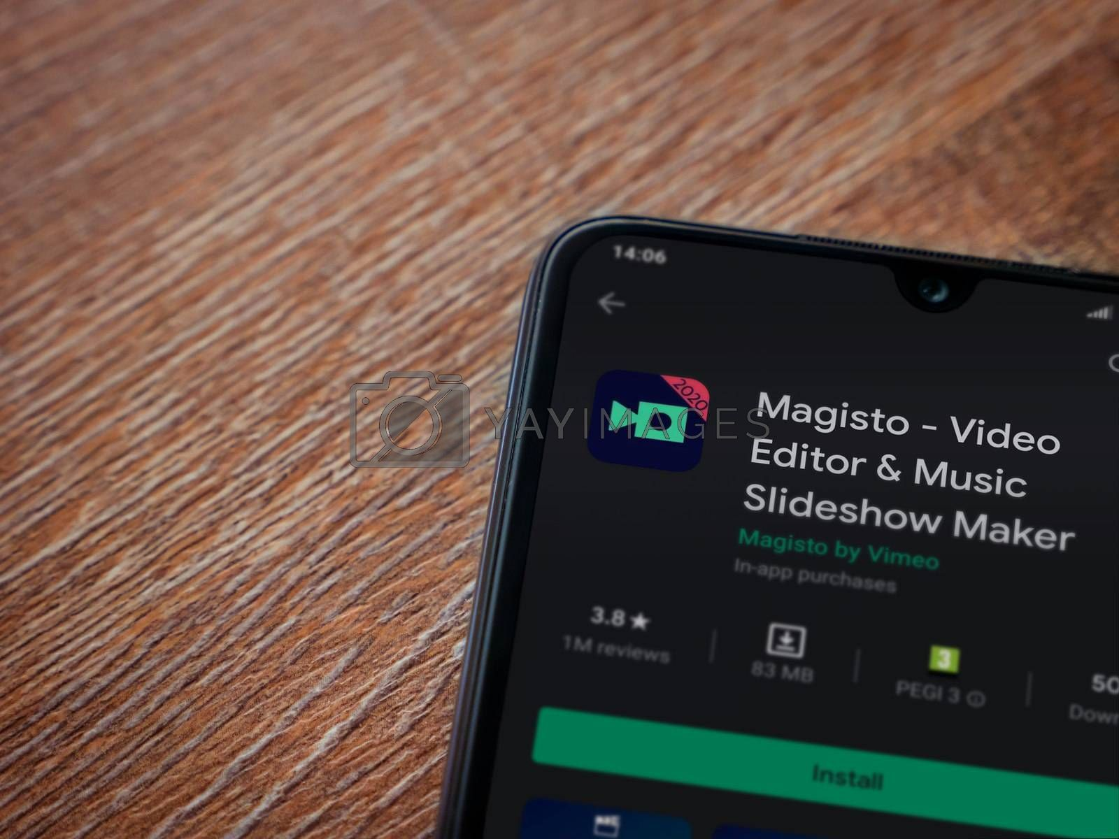 Magisto - Video Editor and Movie Maker app play store page on th by wavemovies