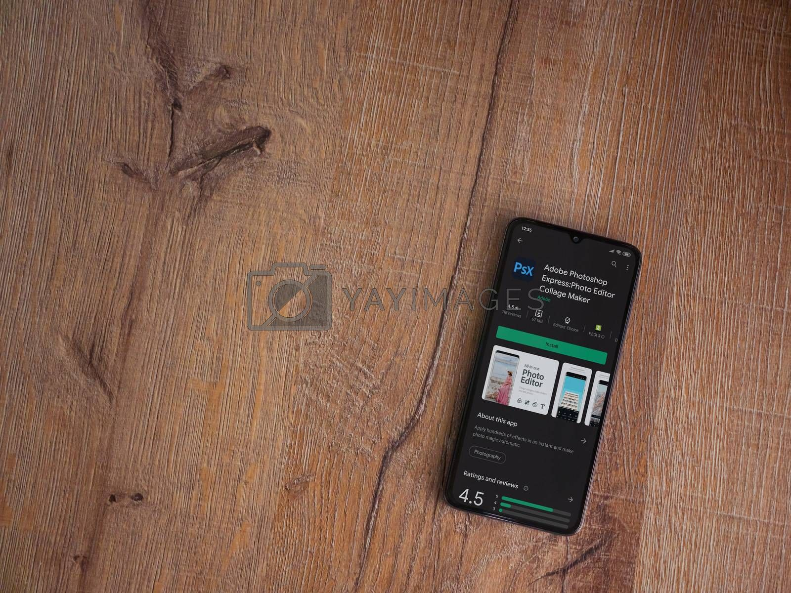 Adobe Photoshop Express Photo Editor app play store page on the  by Wave Movies