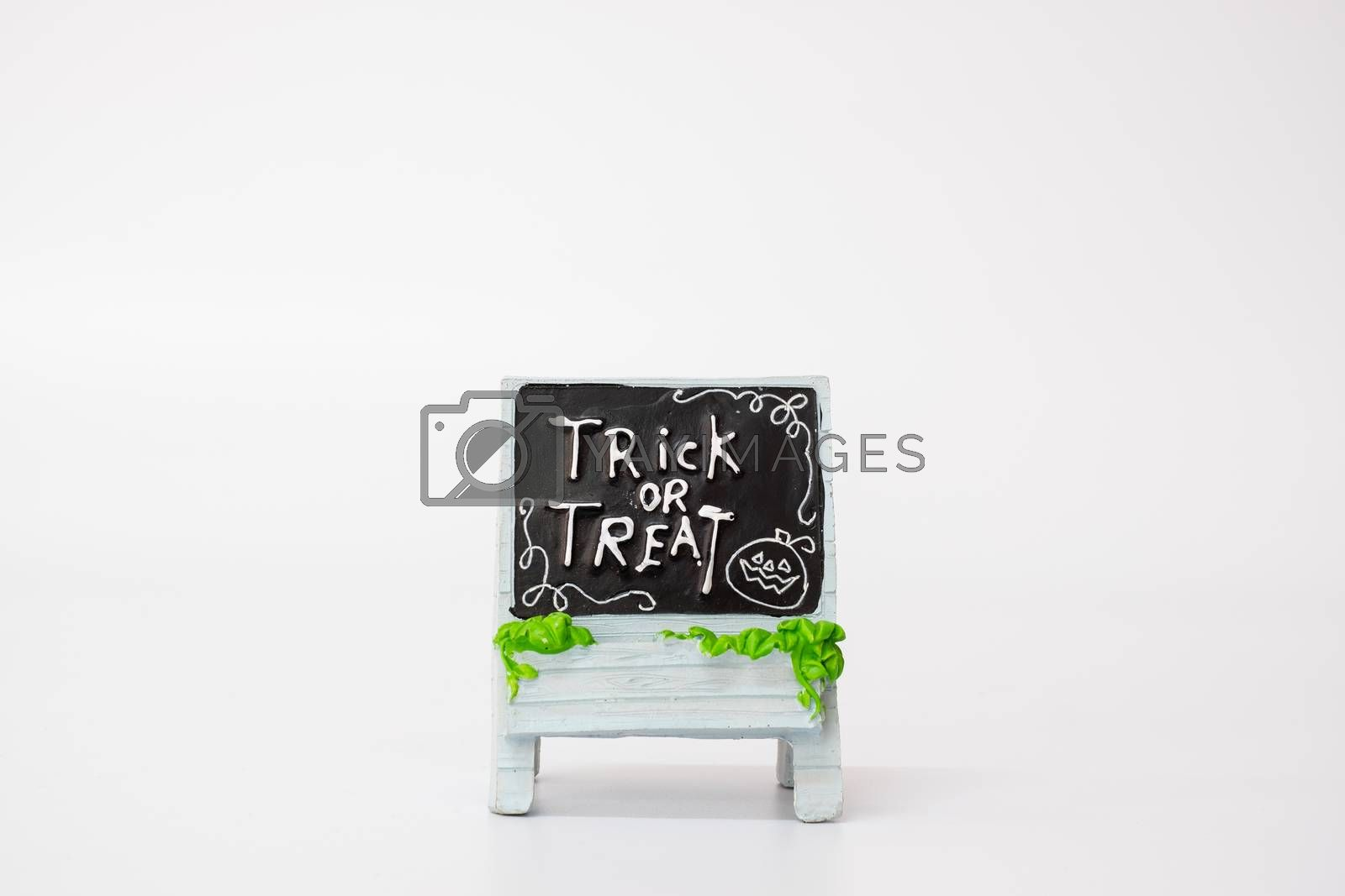 Halloween Party Props Decoration on a white background , Halloween party concept